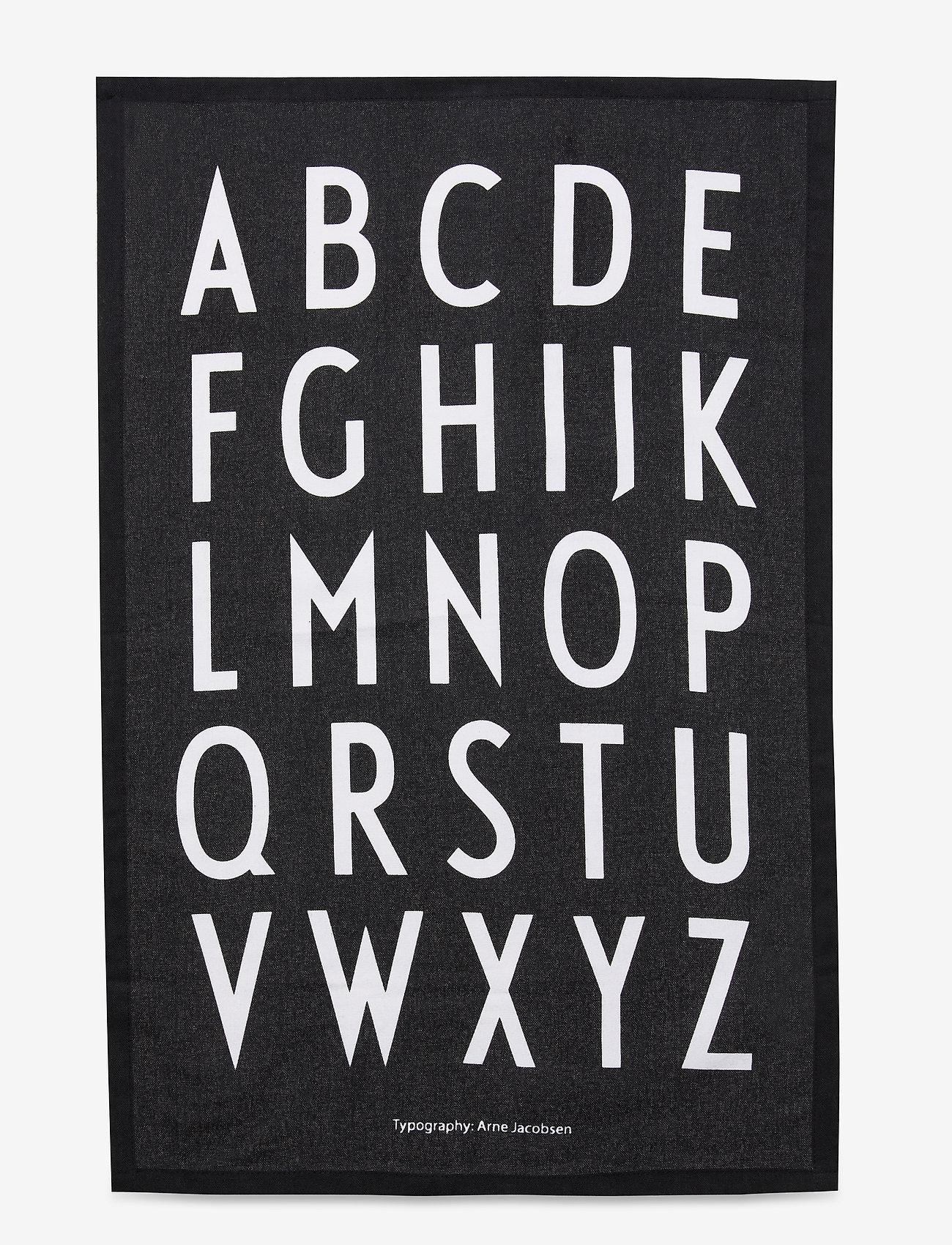 Design Letters - Classic Tea Towel 2-pack - ręczniki kuchenne - black - 0