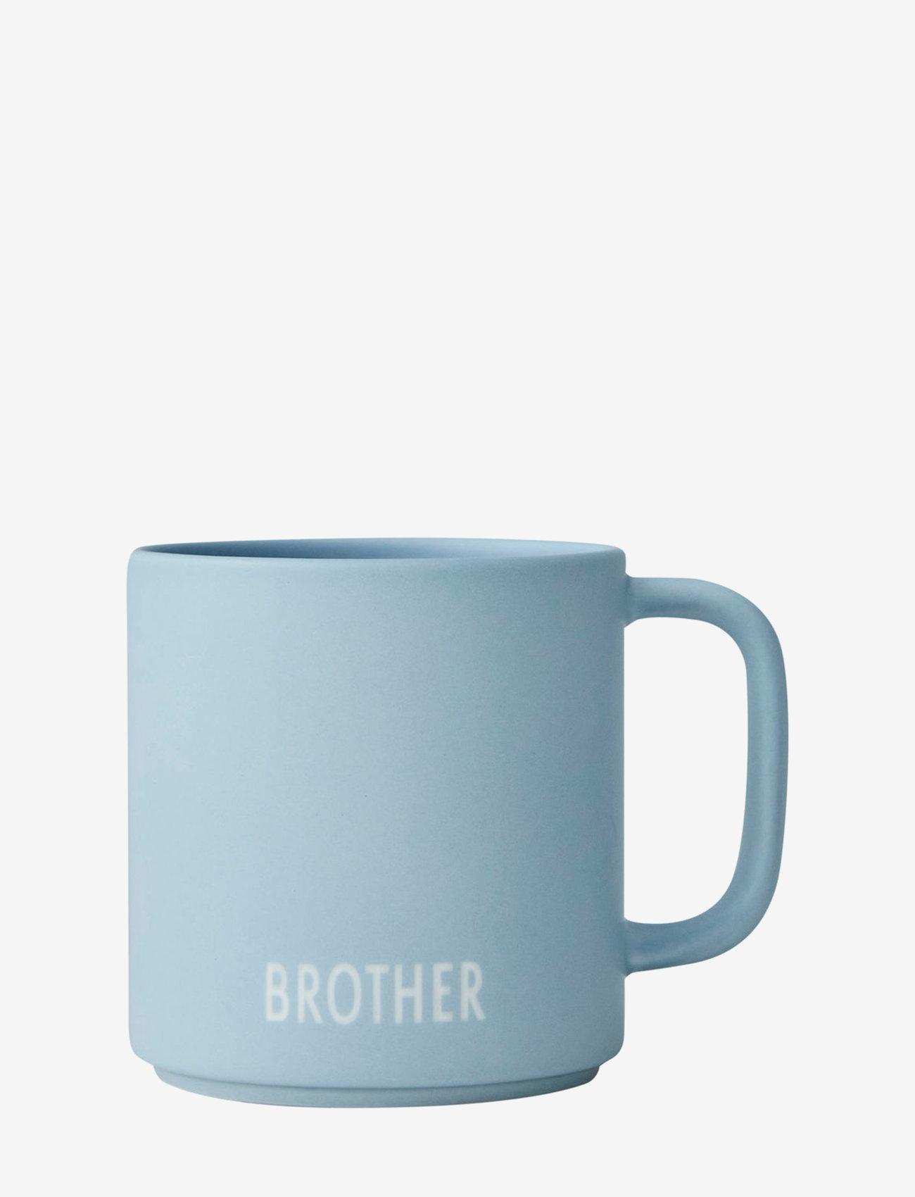 Design Letters - Siblings Cup (fine bone) - tasses à café - light blue - 0