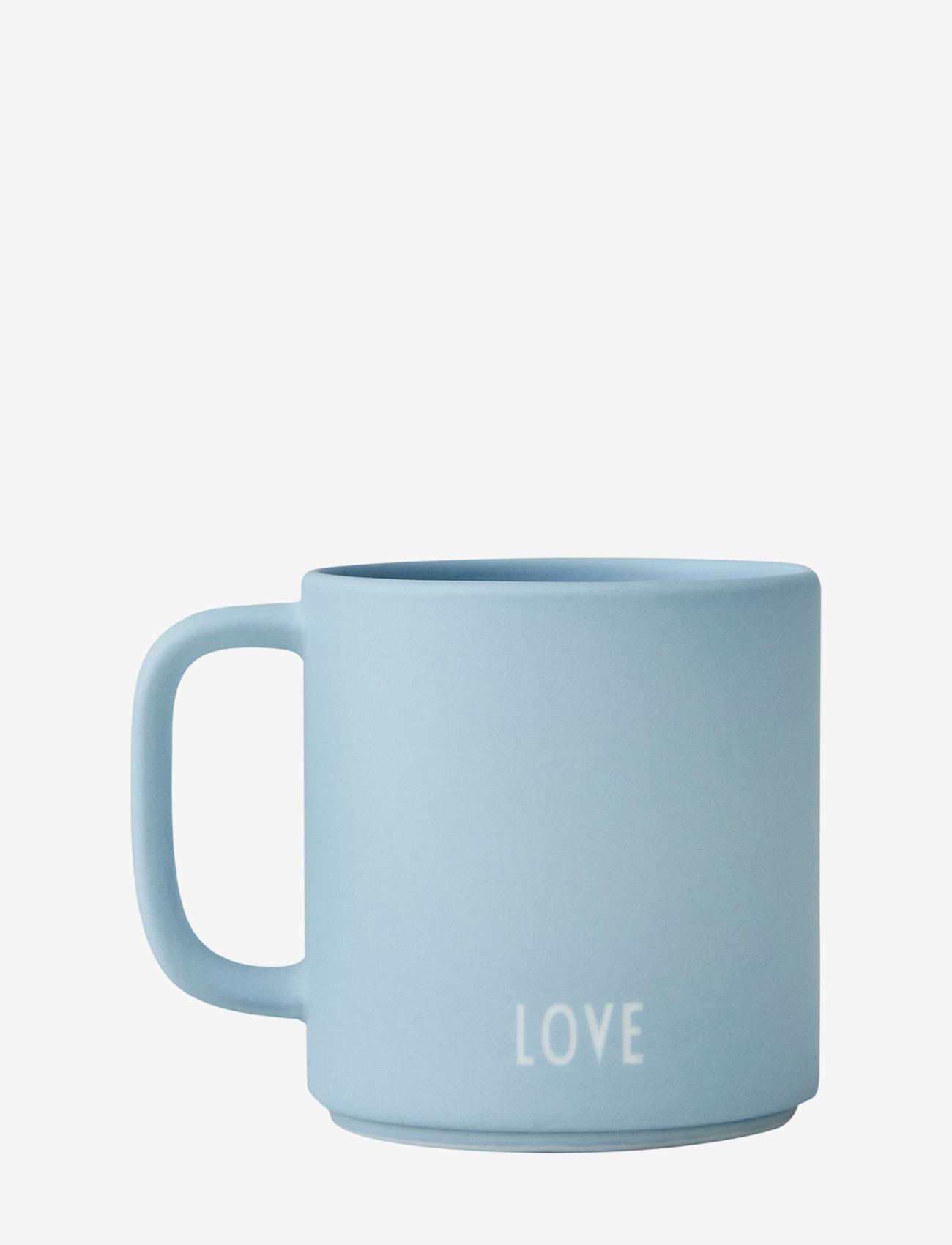 Design Letters - Siblings Cup (fine bone) - tasses à café - light blue - 1