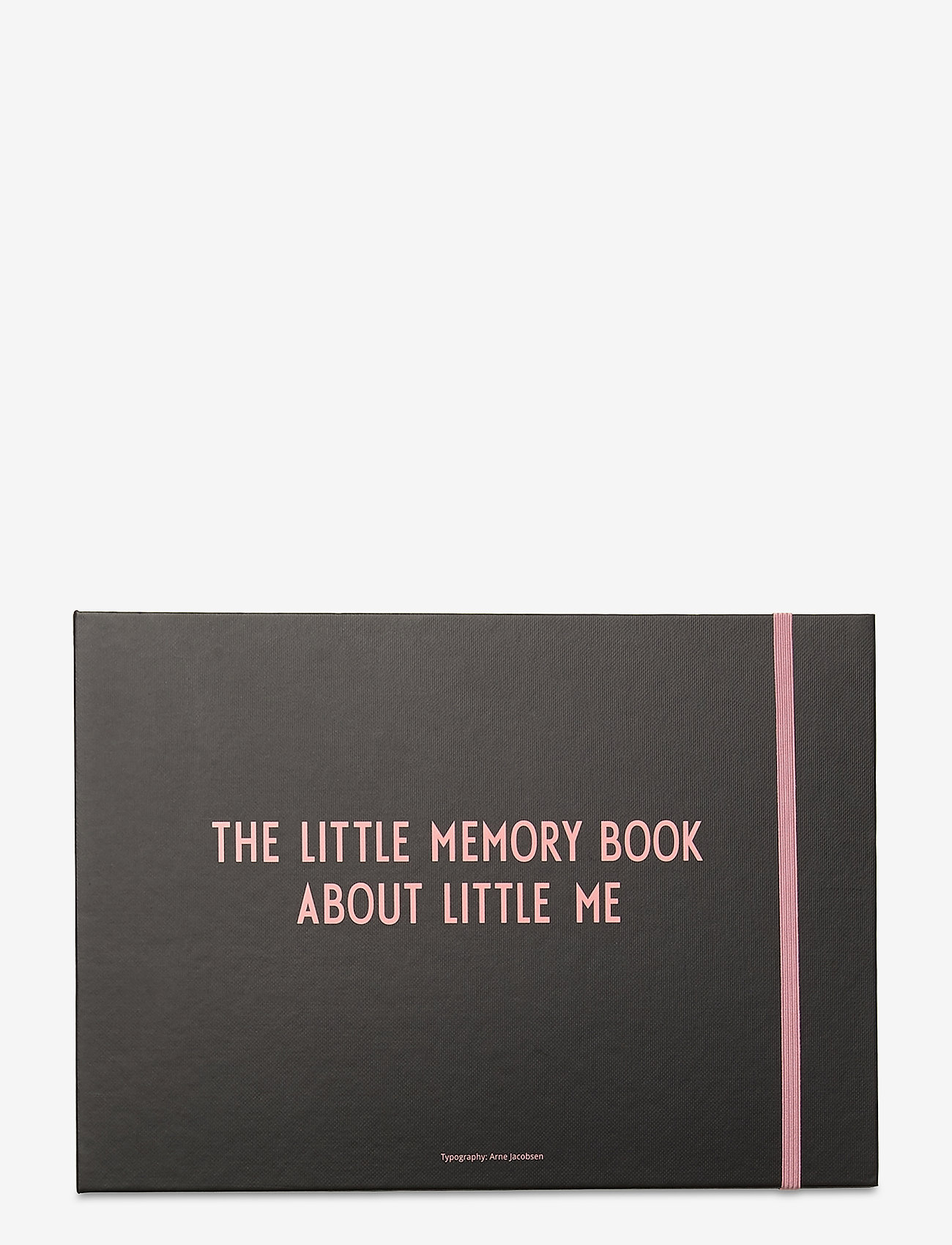 Design Letters - THE LITTLE MEMORY BOOK ABOUT LITTLE ME - wystrój domu - pink - 0
