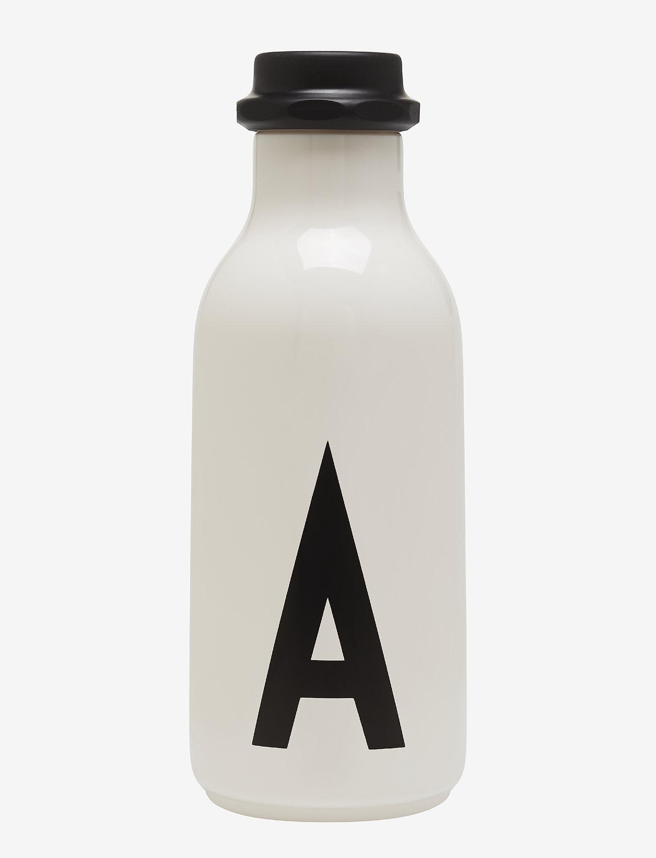 Design Letters - Water bottle A-Z - bouteilles à eau - white - 0