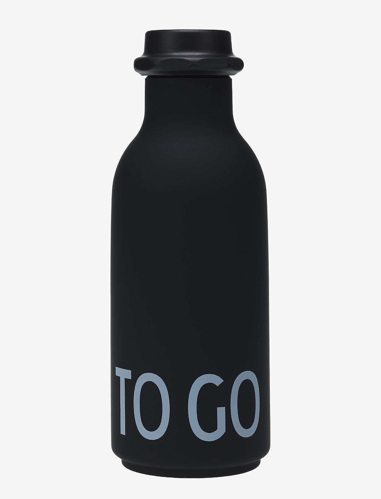 Design Letters - To Go Water Bottle - treenivarusteet - black - 0