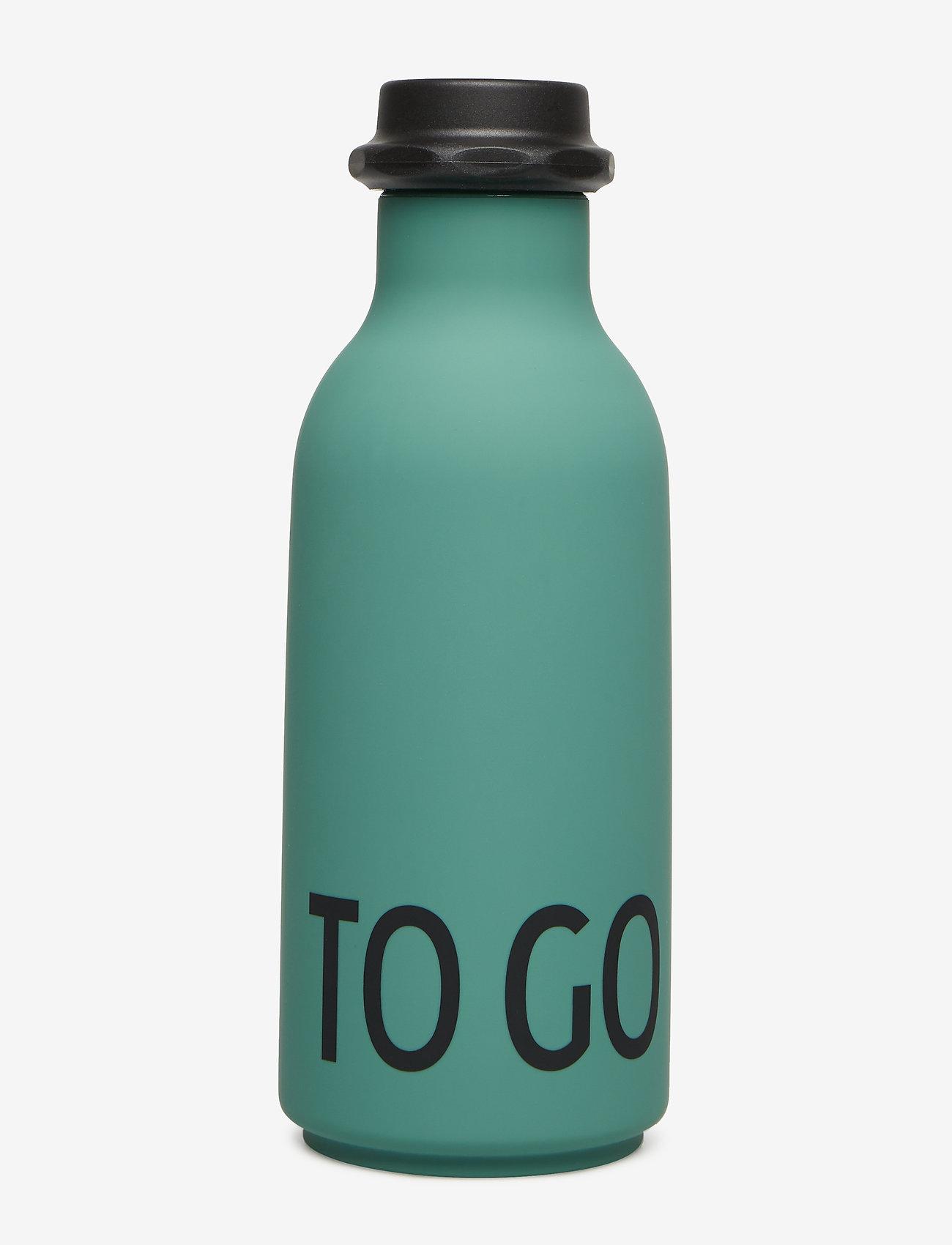 Design Letters - To Go Water Bottle - butelki na wodę i butelki szklane - darkgreen - 0