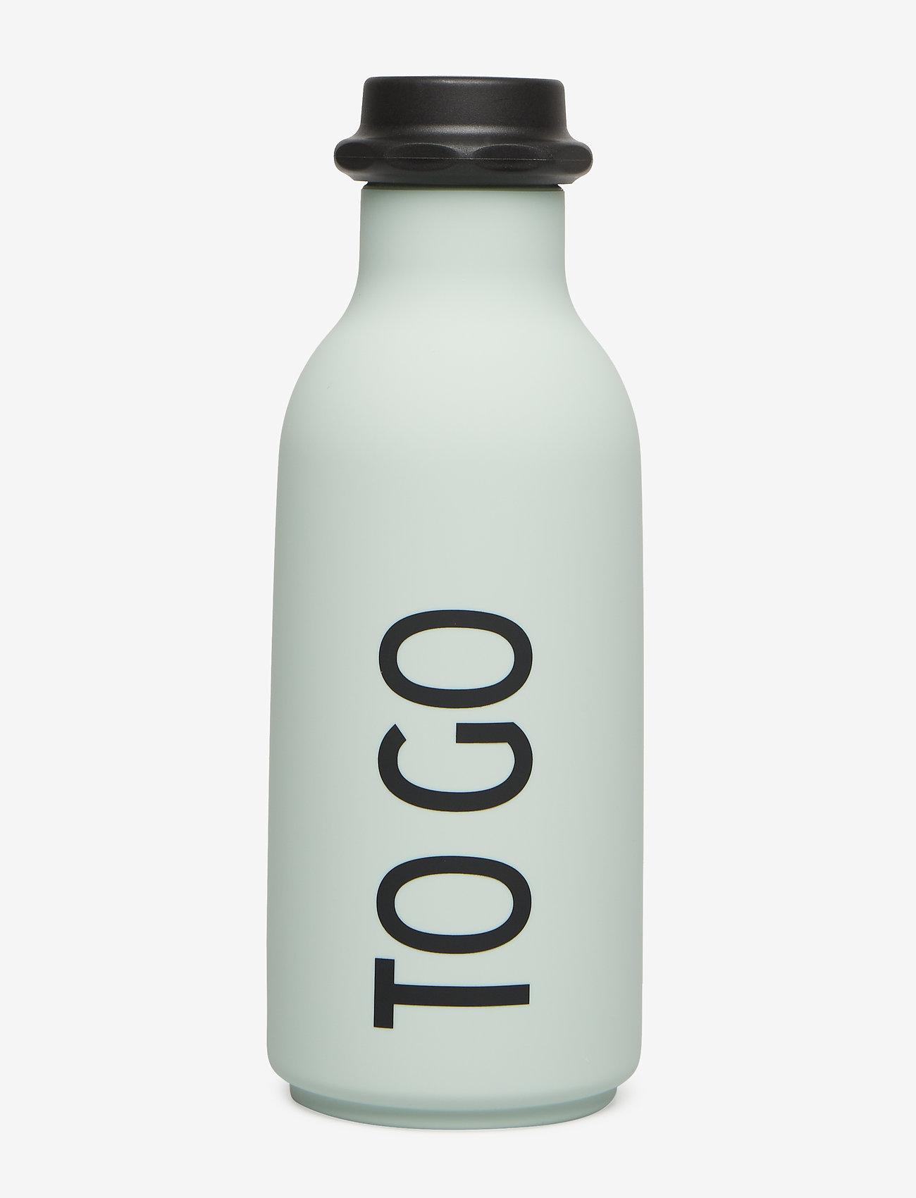 Design Letters - To Go Water Bottle - vesi- ja lasipullot - softgreen - 0