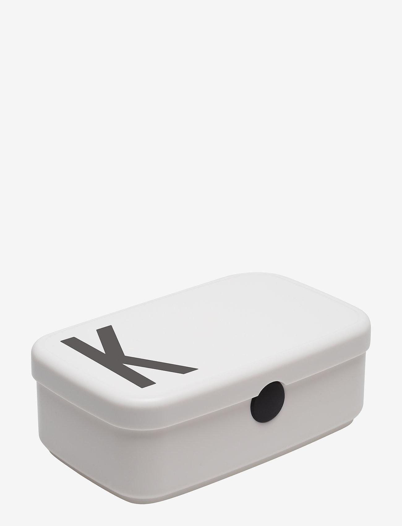 Design Letters - Personal Lunch box A-Z - boîtes à lunch et contenants alimentaires - white - 0