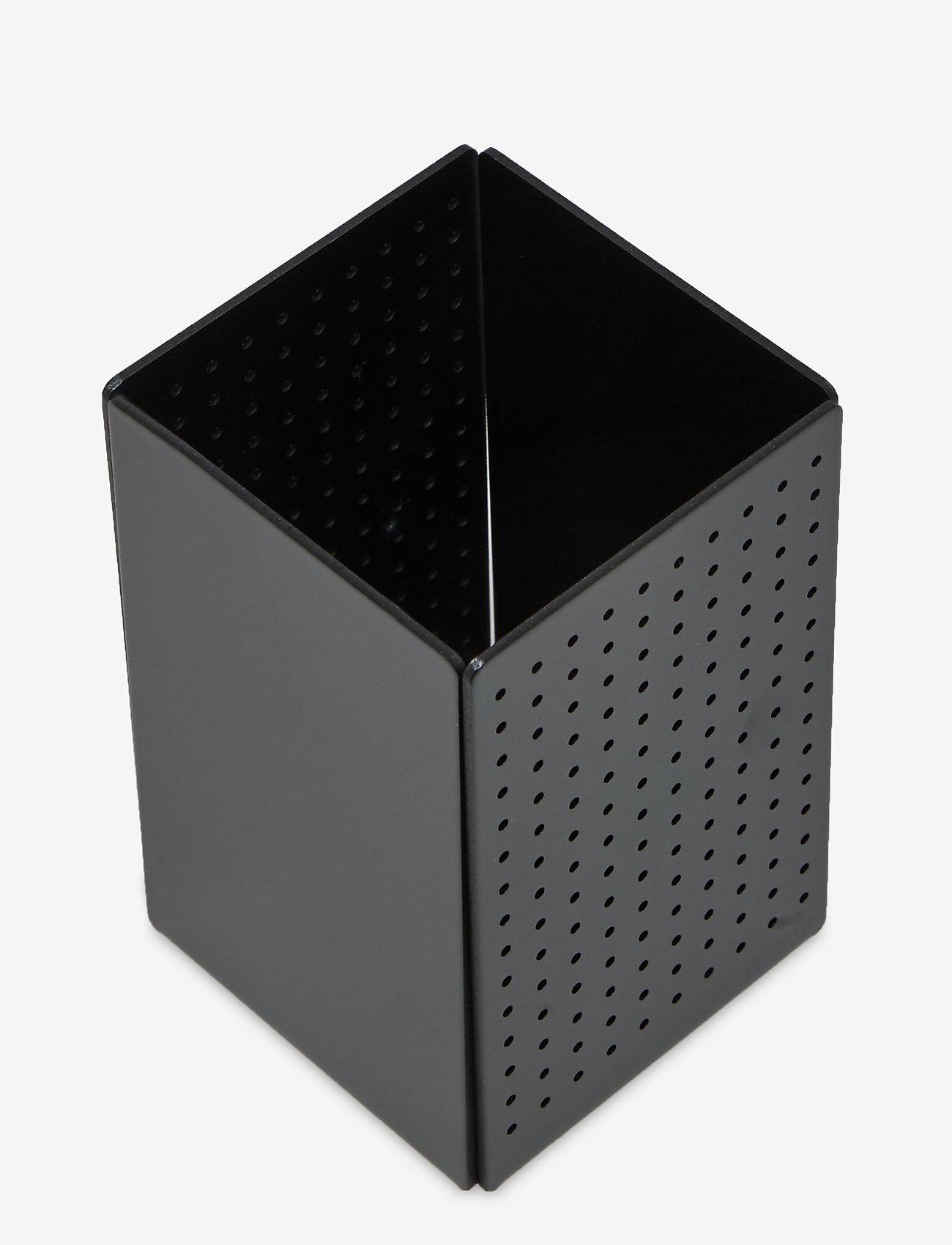 Design Letters - Smart Organiser 65x65x100 - przechowywanie - black - 0