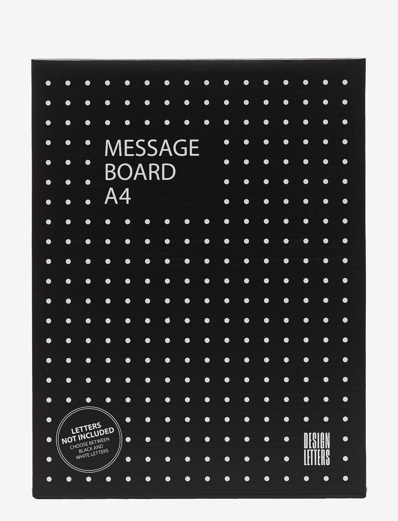 Design Letters - Message board a4 - décor - darkgreen - 1