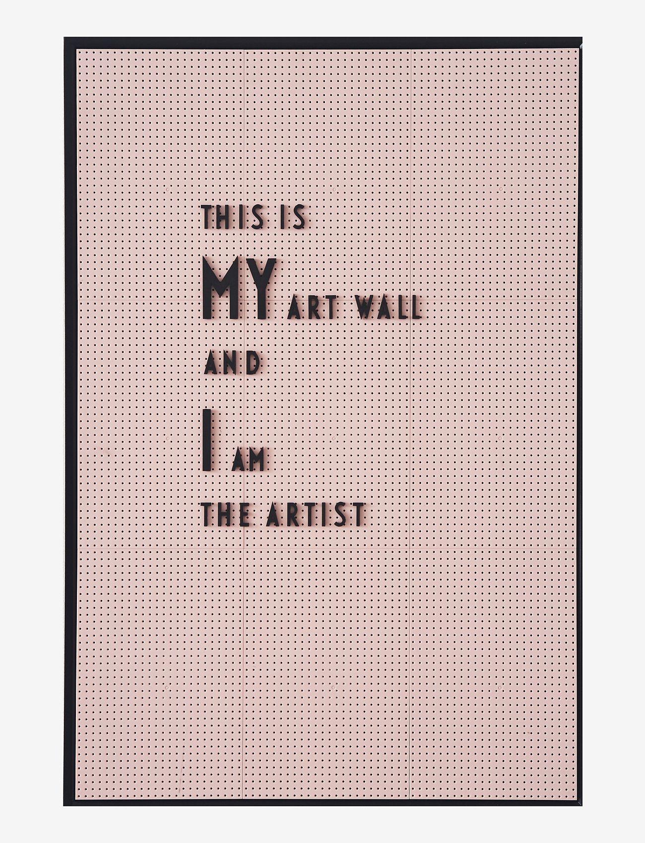 Design Letters - Message board a4 - décor - pink - 1