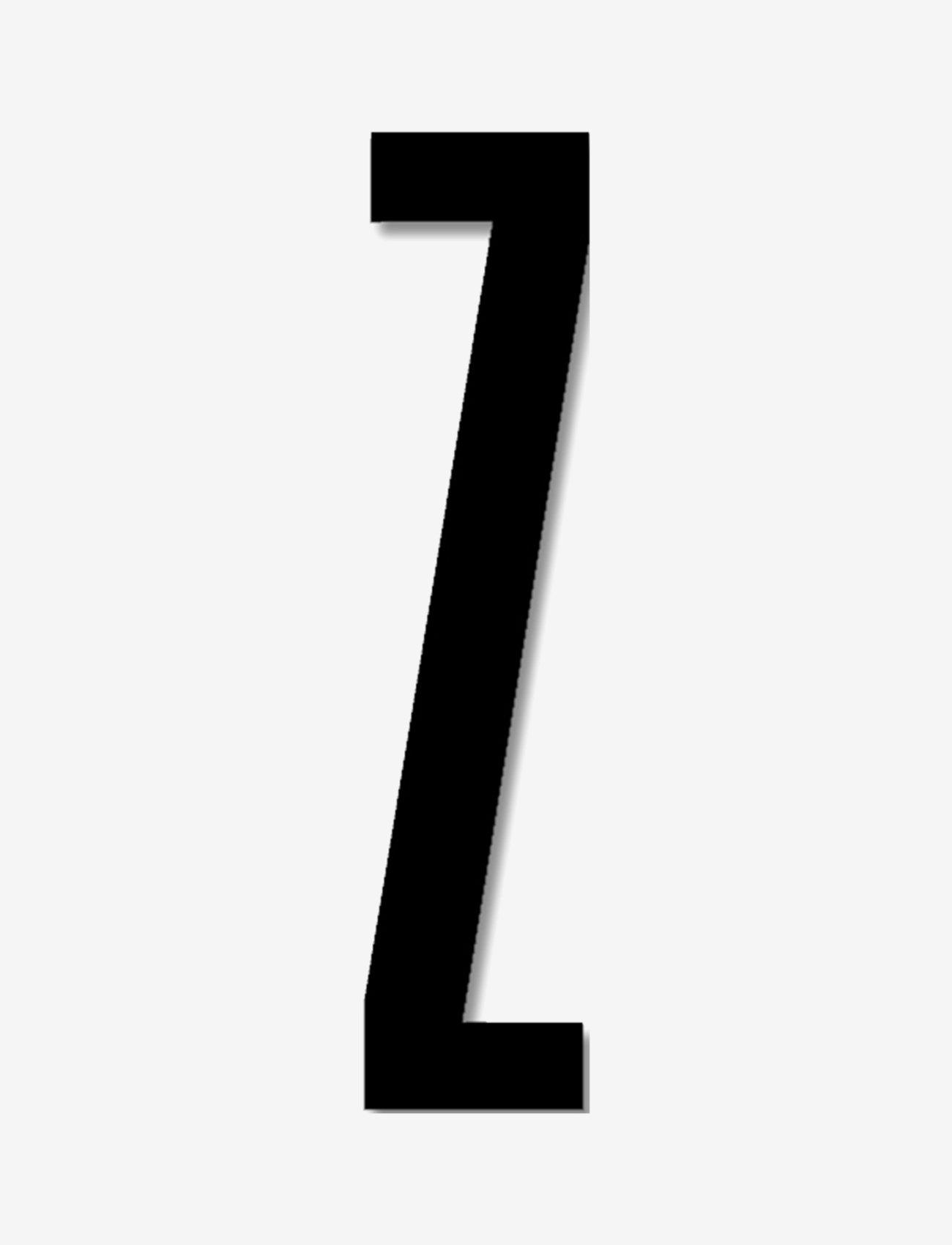 Design Letters - Acrylic outdoor letters black - accessoires décoratifs - black - 0