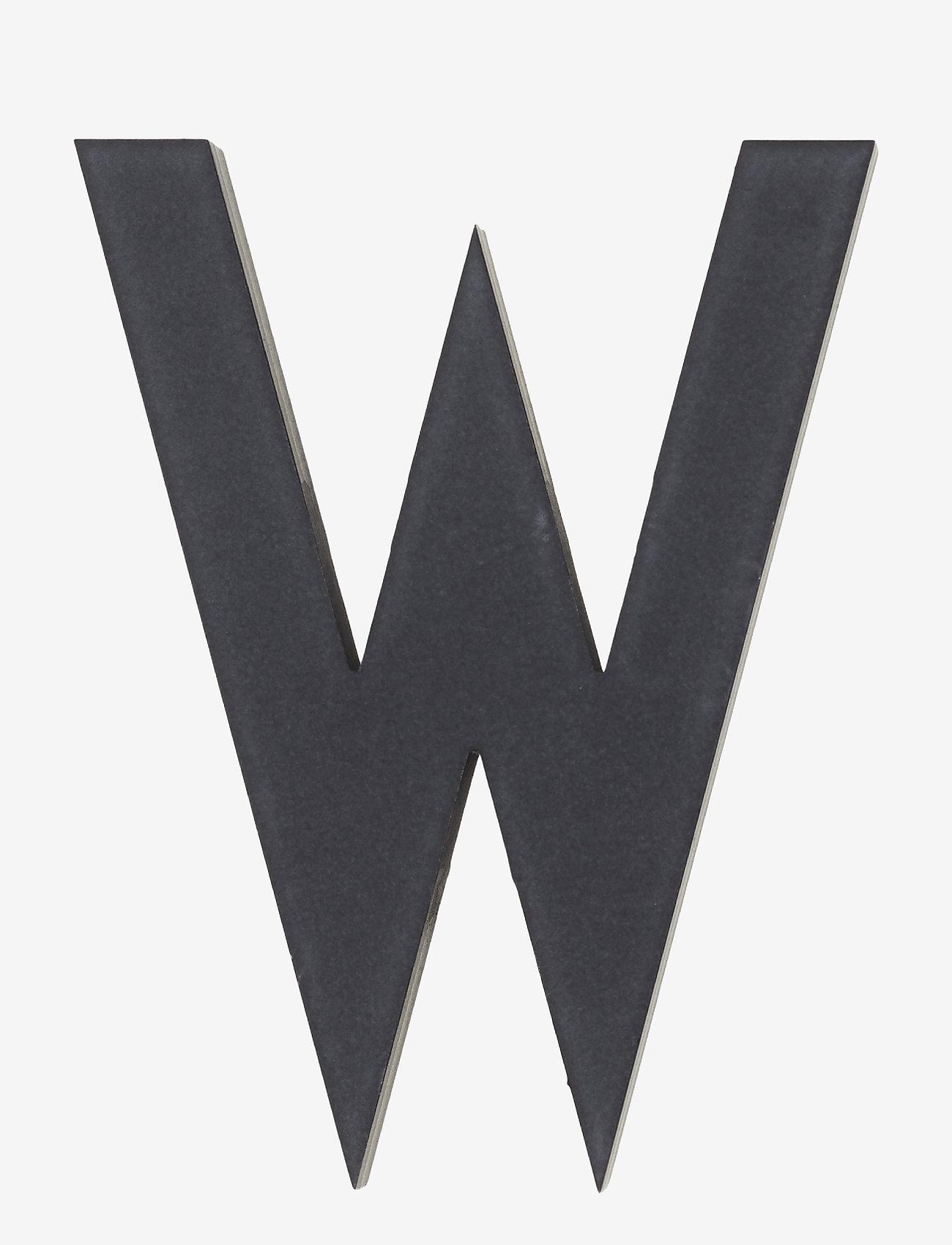 Design Letters - Architect letters 50 mm - accessoires décoratifs - black - 0
