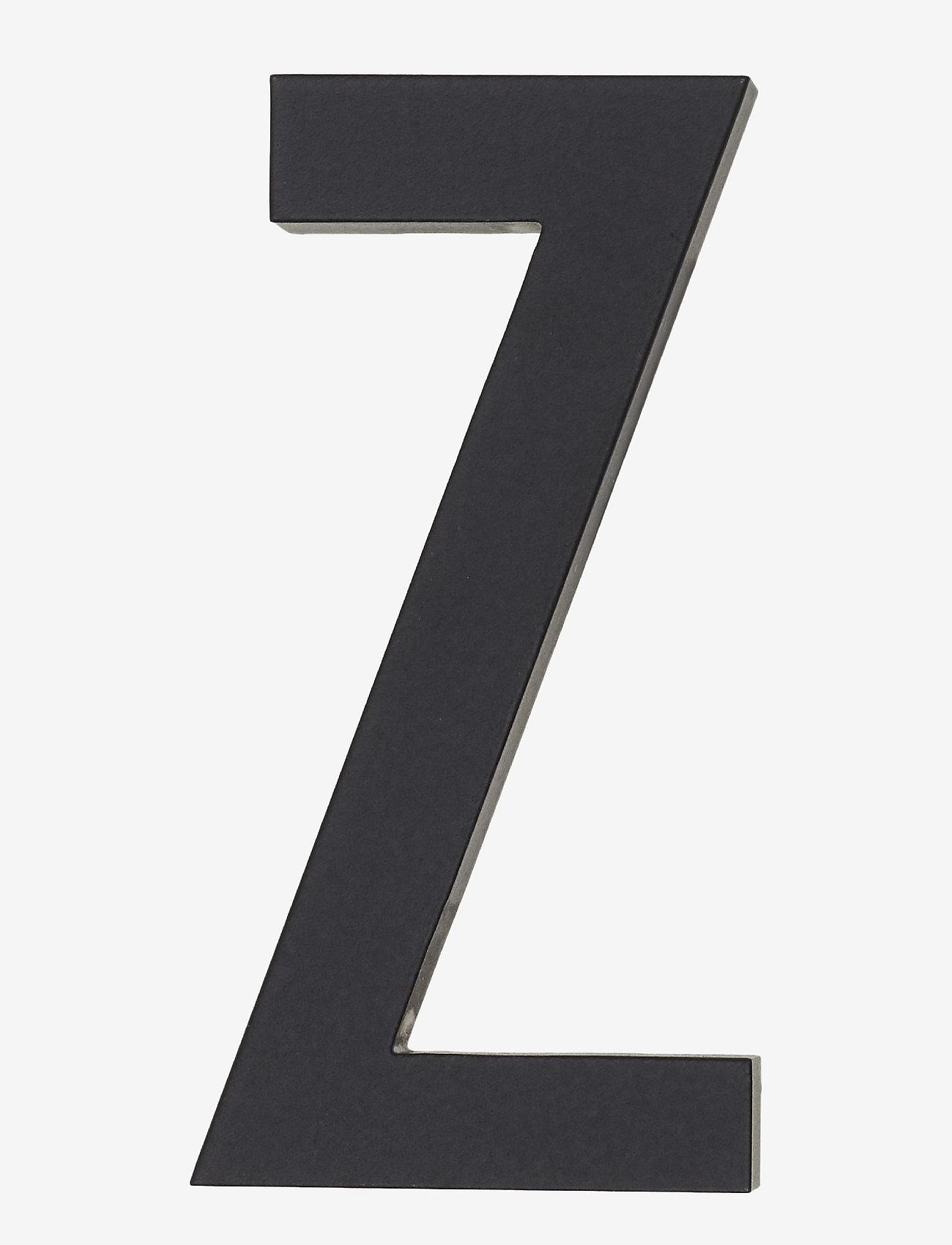 Design Letters - Architect letters 50 mm - wystrój domu - black - 0