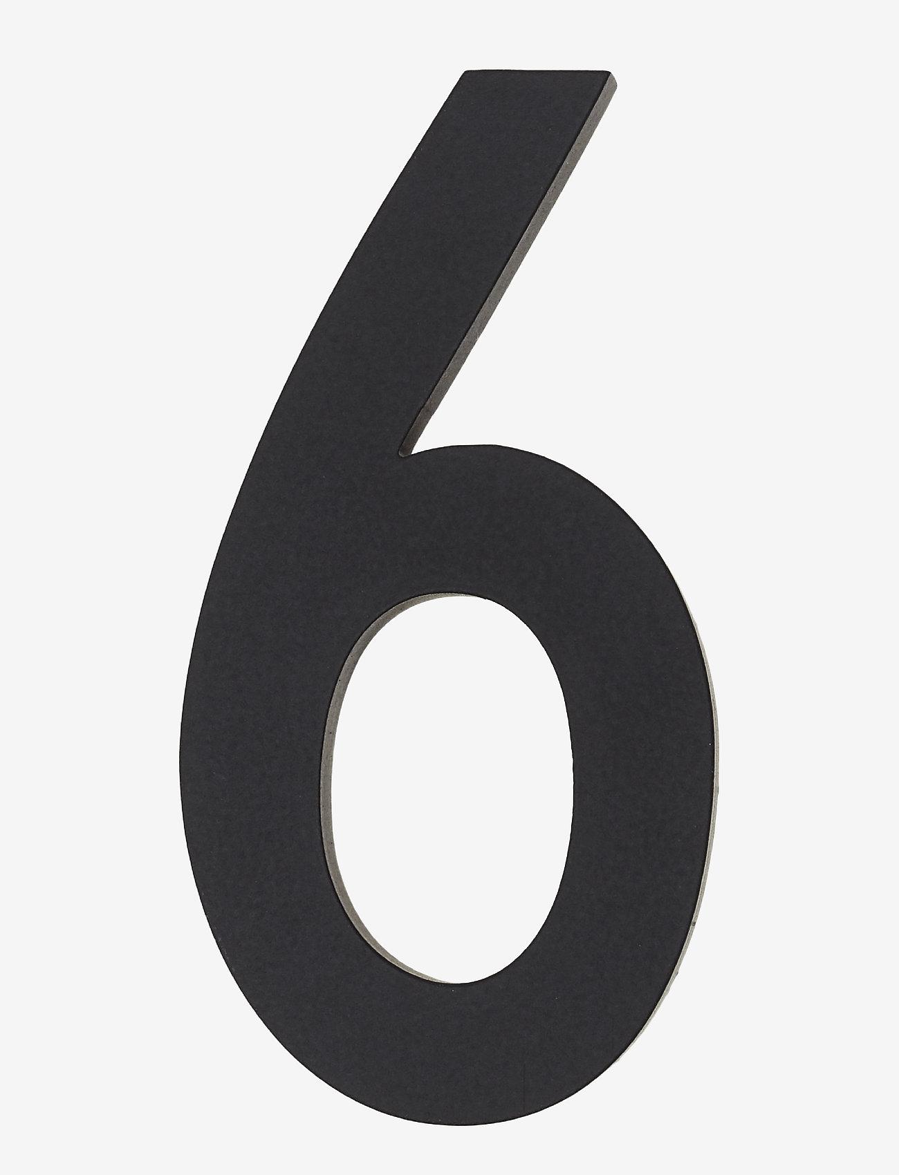Design Letters - Architect numbers 50 mm - wystrój domu - black - 0