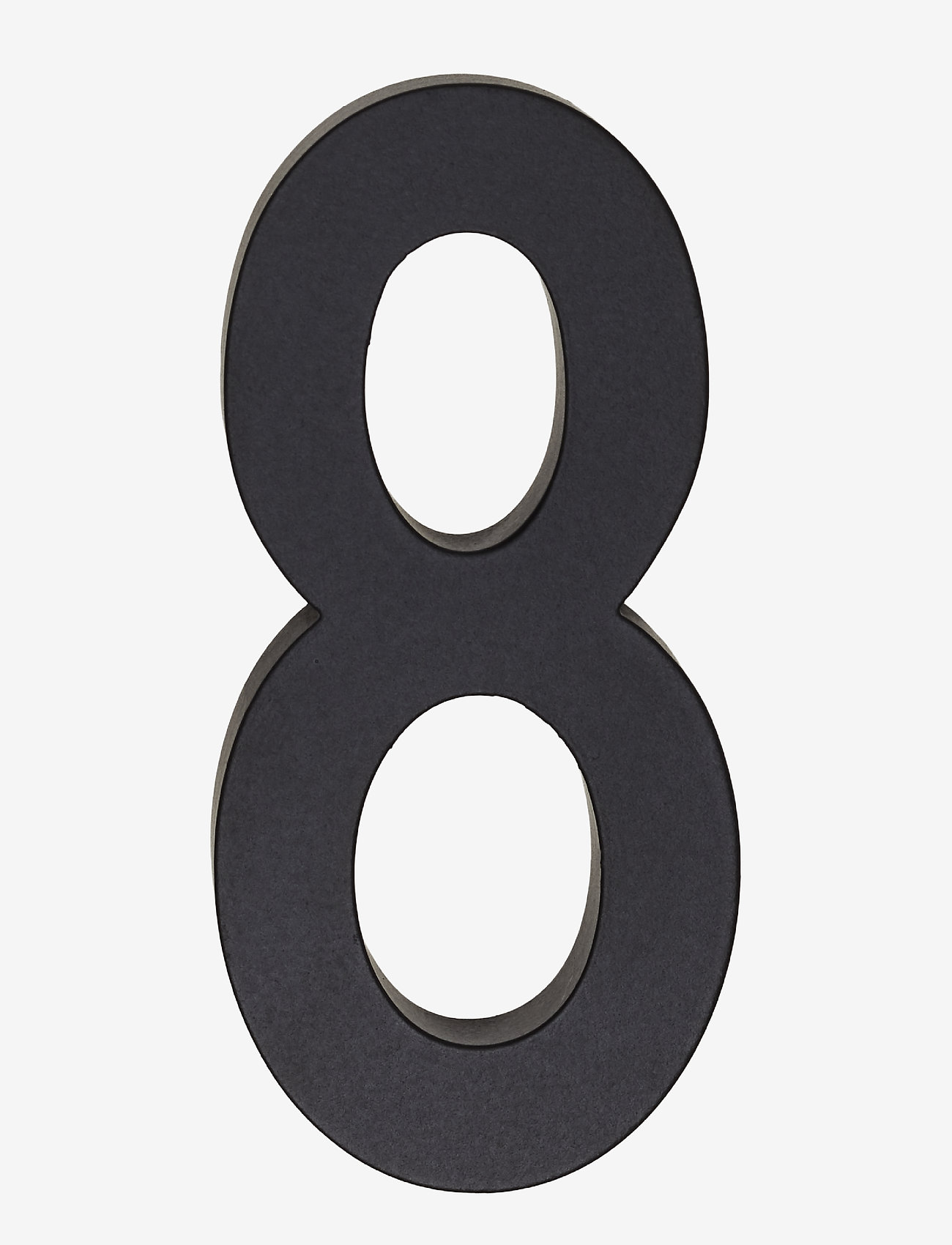 Design Letters - Architect numbers 50 mm - wystrój domu - black - 0