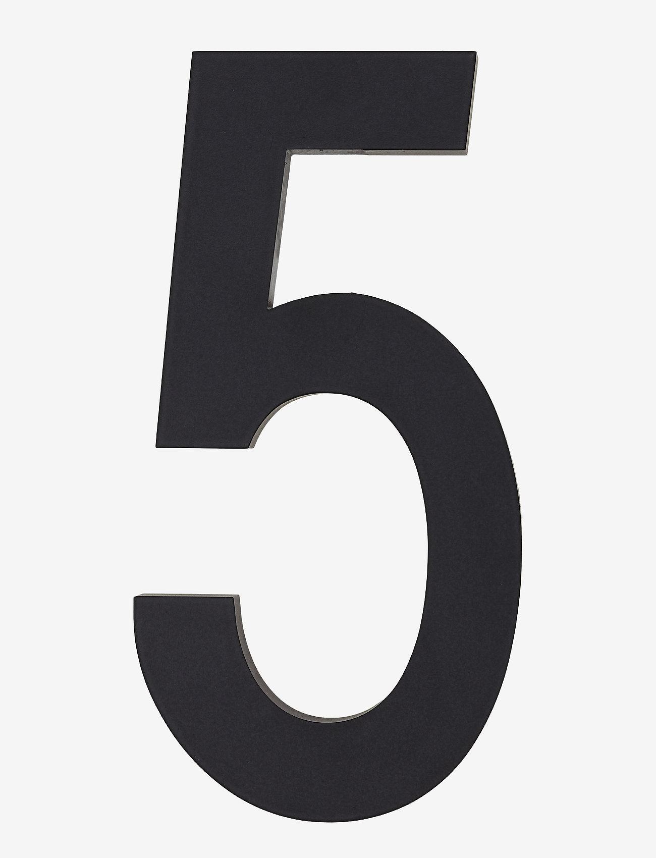 Design Letters - Architect numbers 100 mm - accessoires décoratifs - black - 0