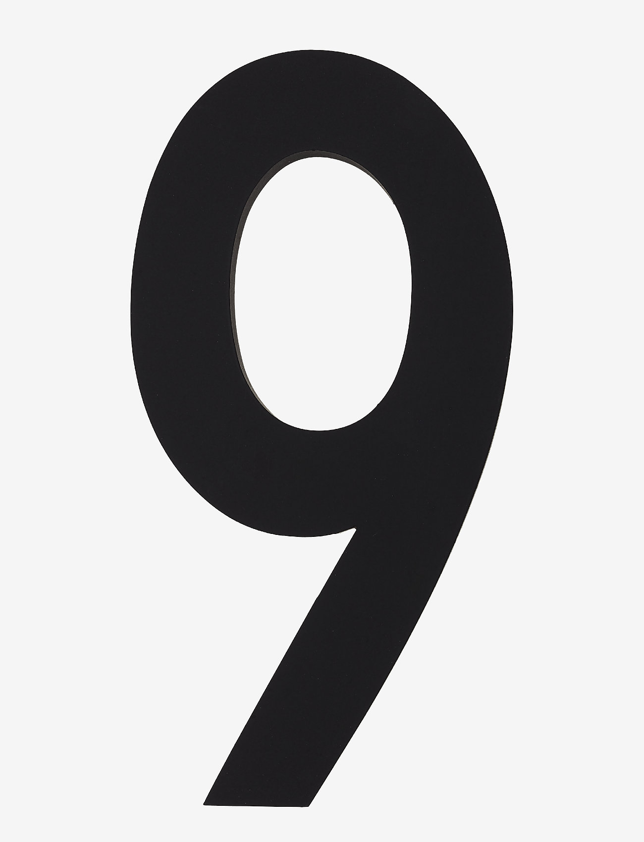 Design Letters - Architect numbers 100 mm - wystrój domu - black - 0