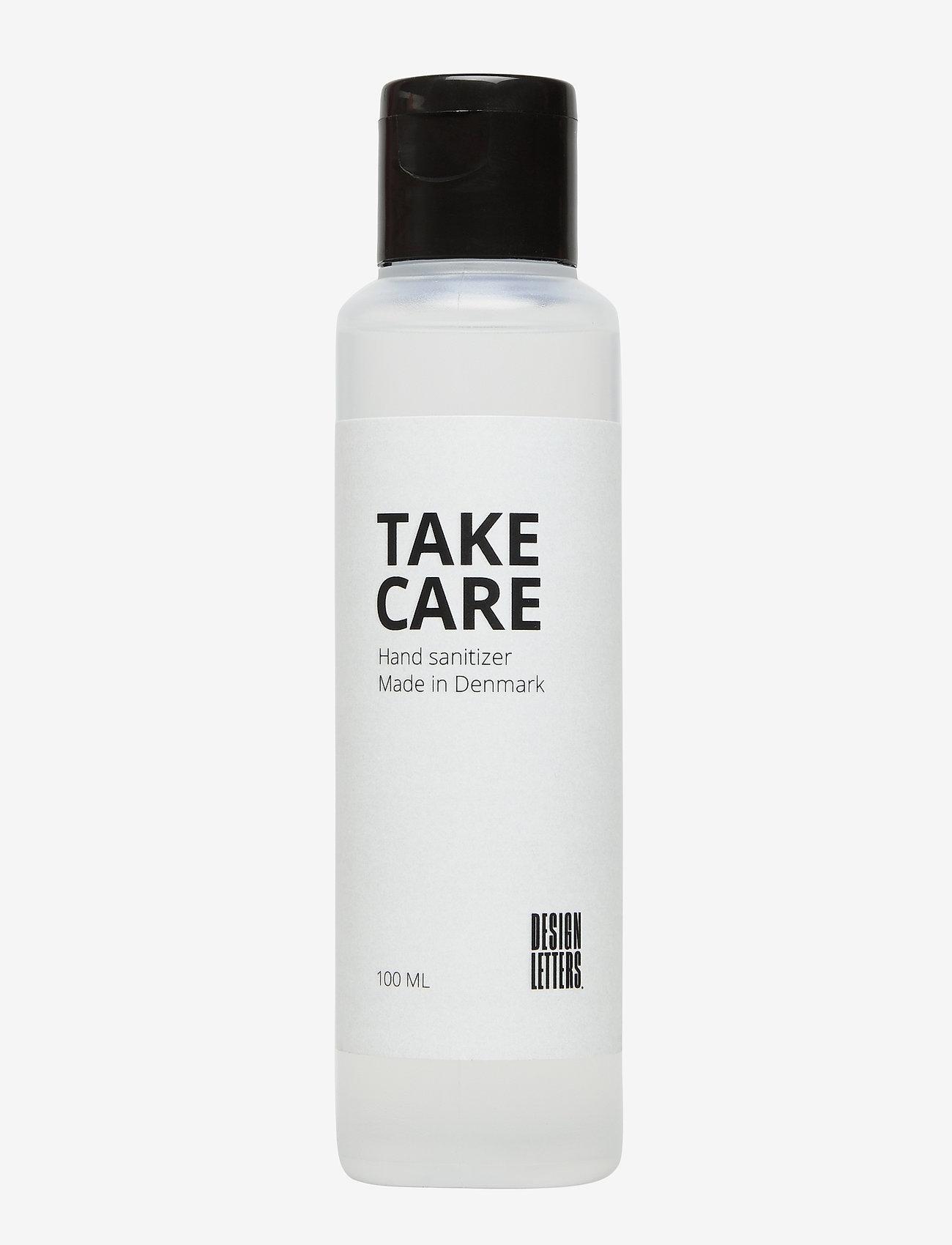 Design Letters - Hand sanitizer 100ml Made in Denmark - vartalo - white - 0