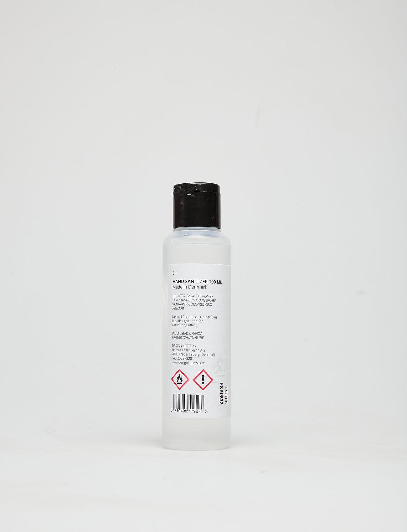 Design Letters - Hand sanitizer 100ml Made in Denmark - vartalo - white - 1