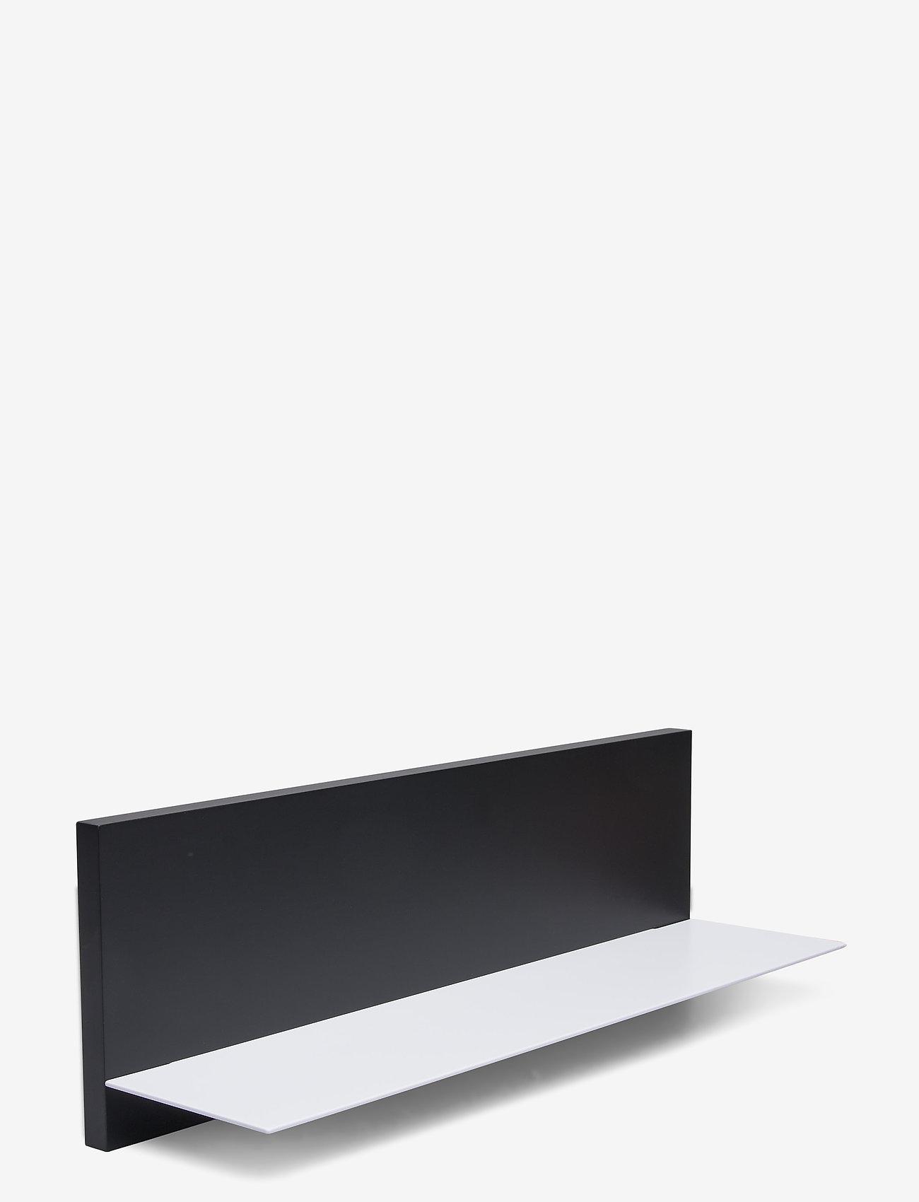Design Letters - Black Single shelf - etagères et rangements - black - 0