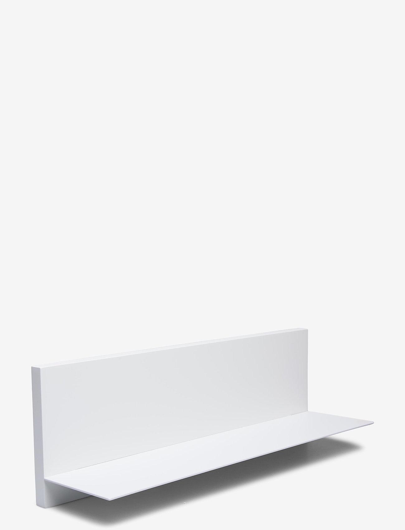 Design Letters - White Single shelf - etagères et rangements - white - 0