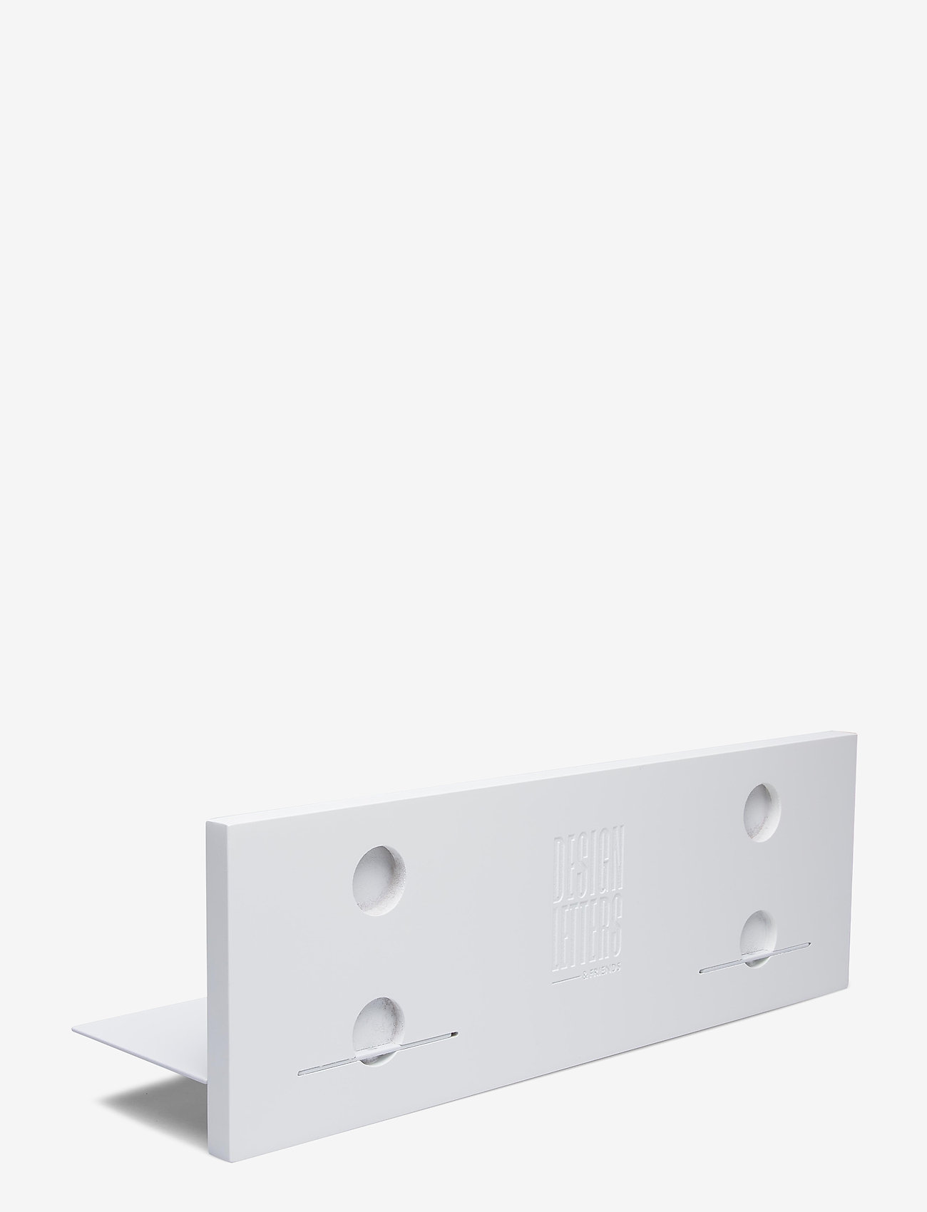 Design Letters - White Single shelf - etagères et rangements - white - 1