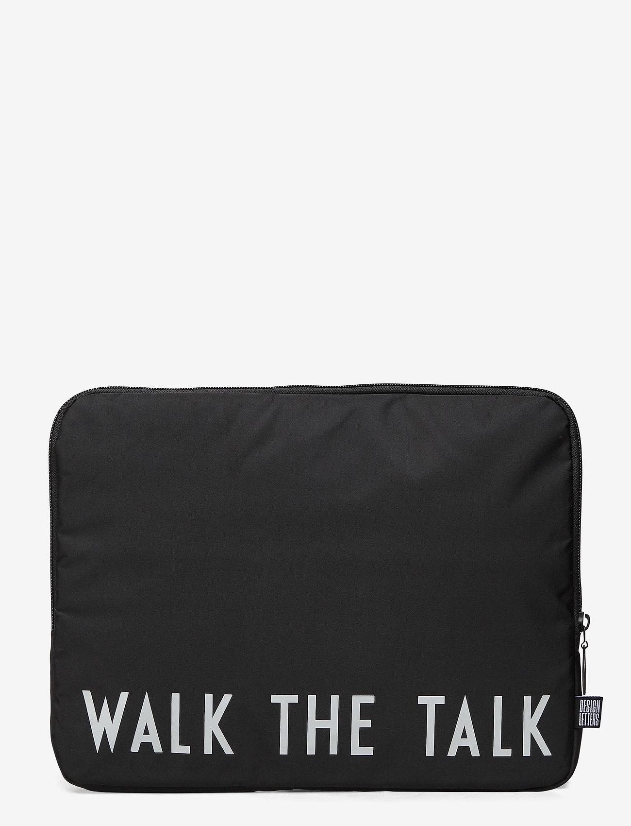 Design Letters - Laptop Coat - sacs pour ordinateur - black - 0