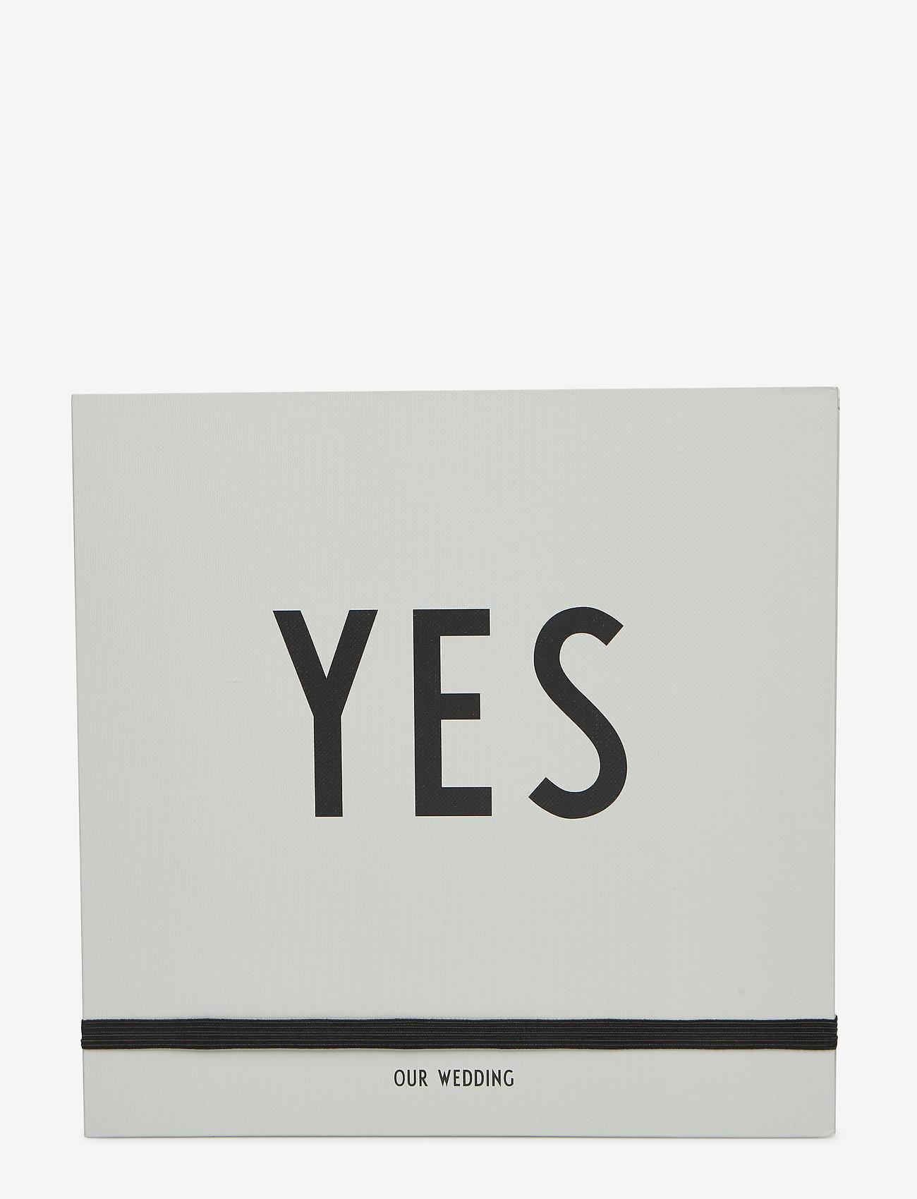 Design Letters - Wedding book - wystrój domu - grey - 0