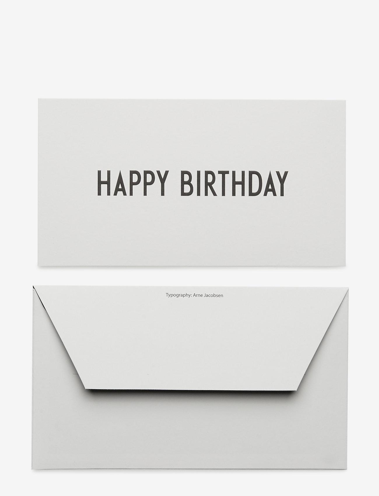 Design Letters - OCCASION CARD - décor - happy - 1