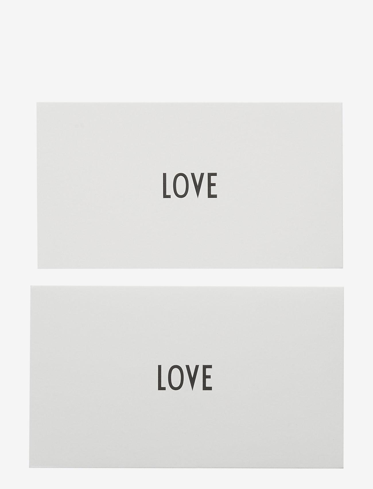 Design Letters - OCCASION CARD - décor - love - 0