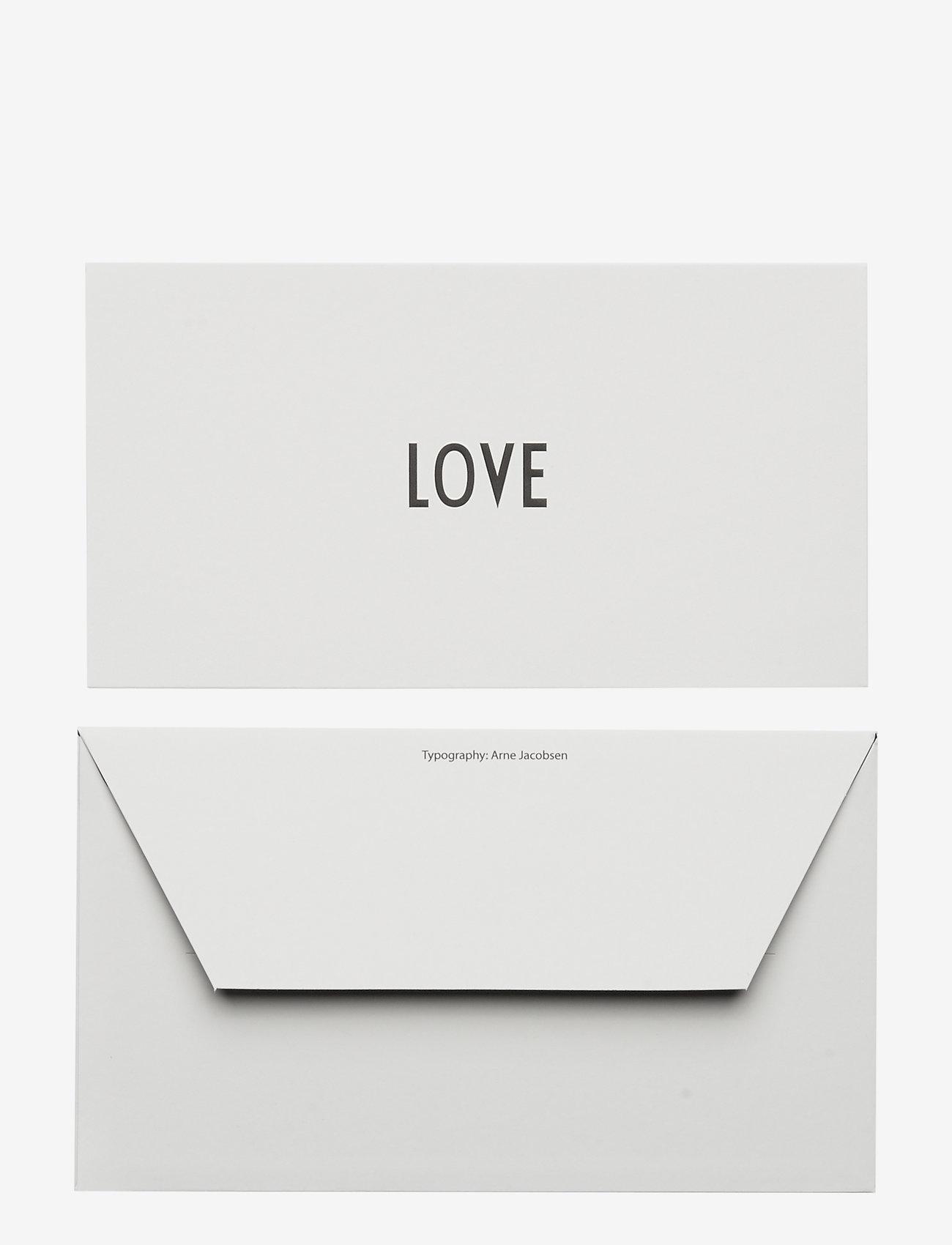 Design Letters - OCCASION CARD - décor - love - 1