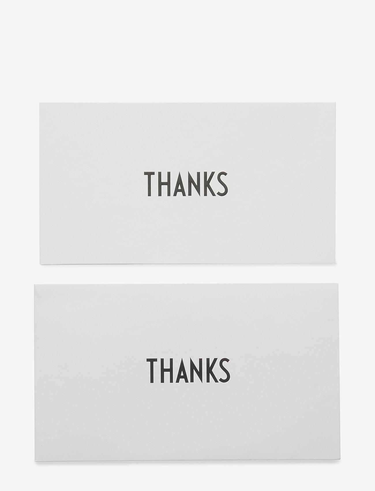 Design Letters - OCCASION CARD - wystrój domu - thanks - 0