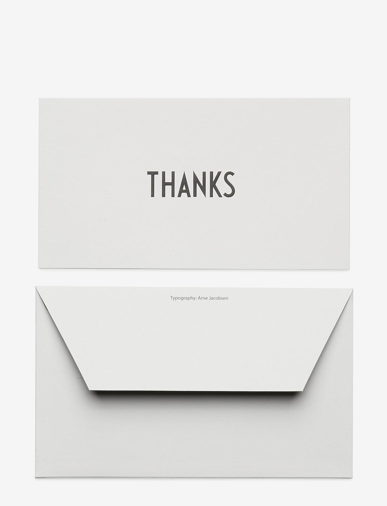 Design Letters - OCCASION CARD - wystrój domu - thanks - 1