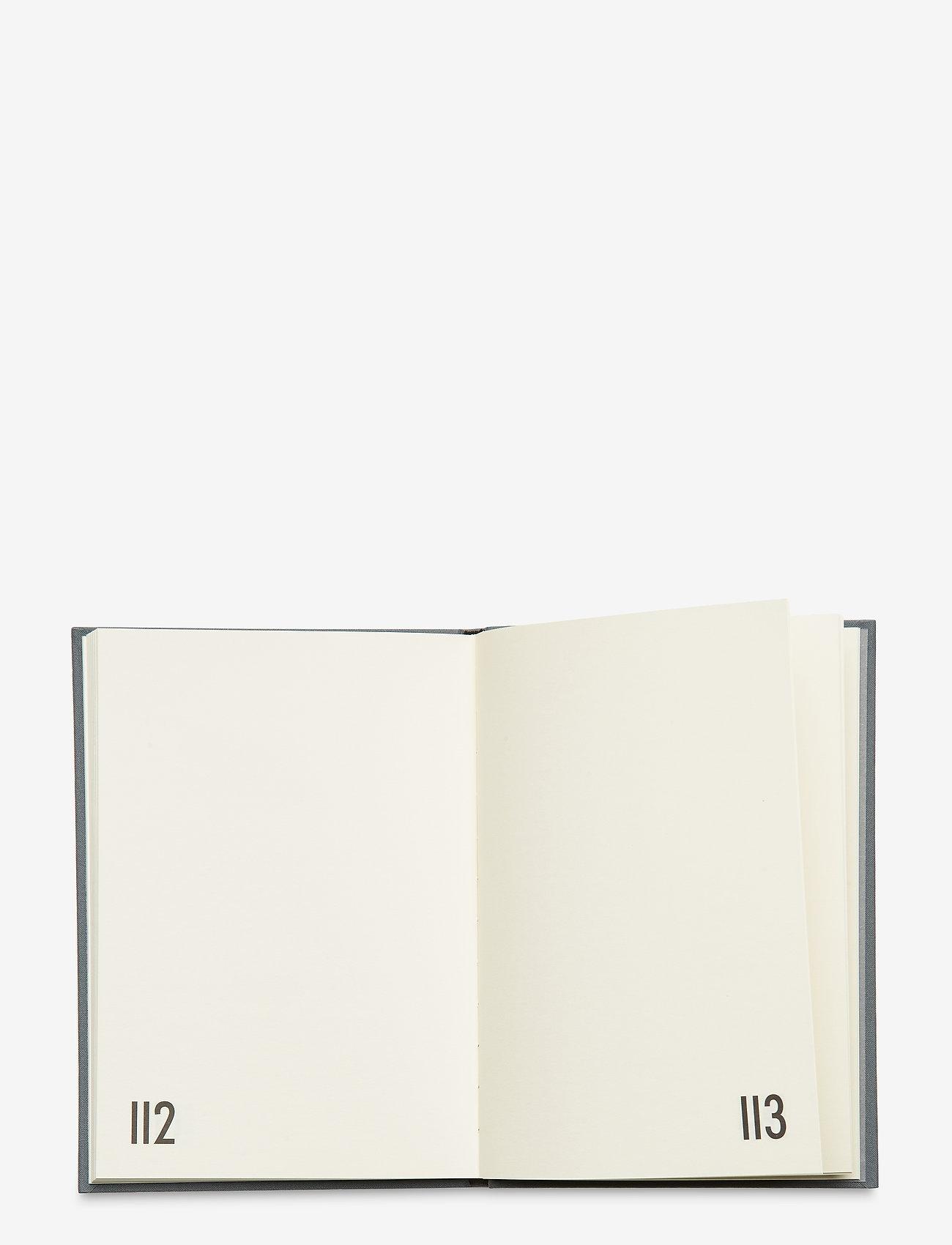 Design Letters - Personal textil notebook - décor - grey - 1