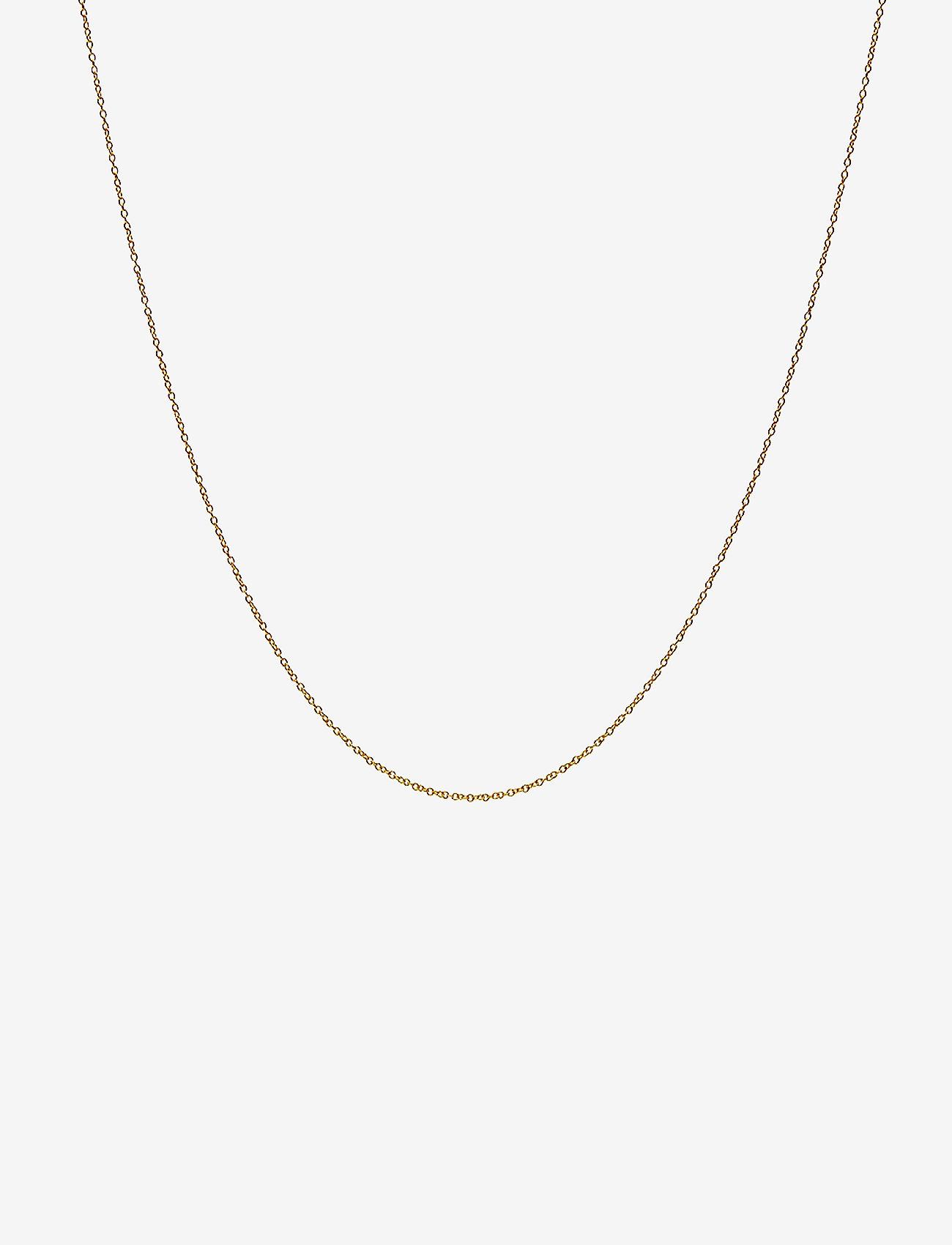 Design Letters - NECKLACE CHAIN 40 CM - colliers - gold - 0