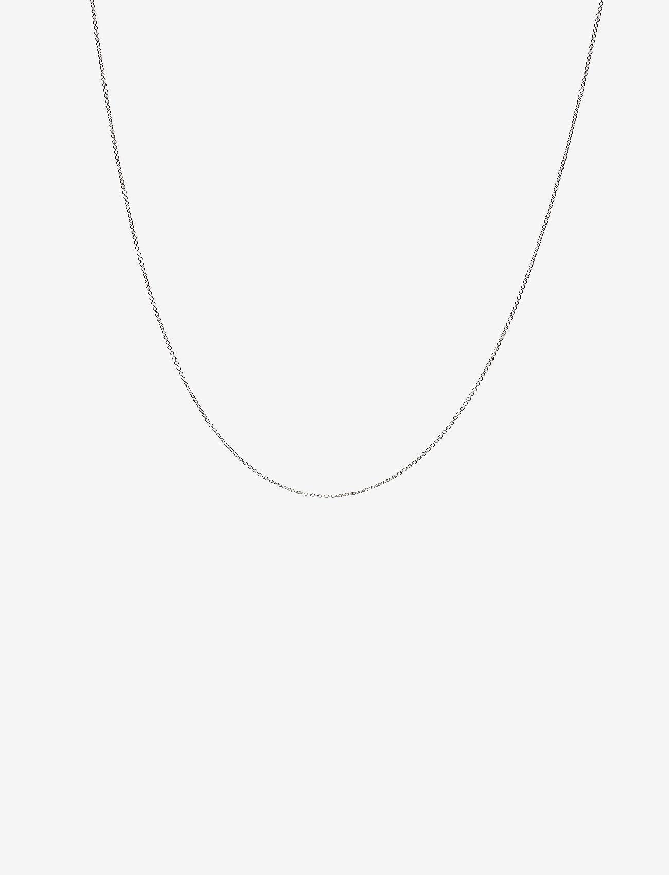Design Letters - NECKLACE CHAIN 40 CM - colliers - silver - 0