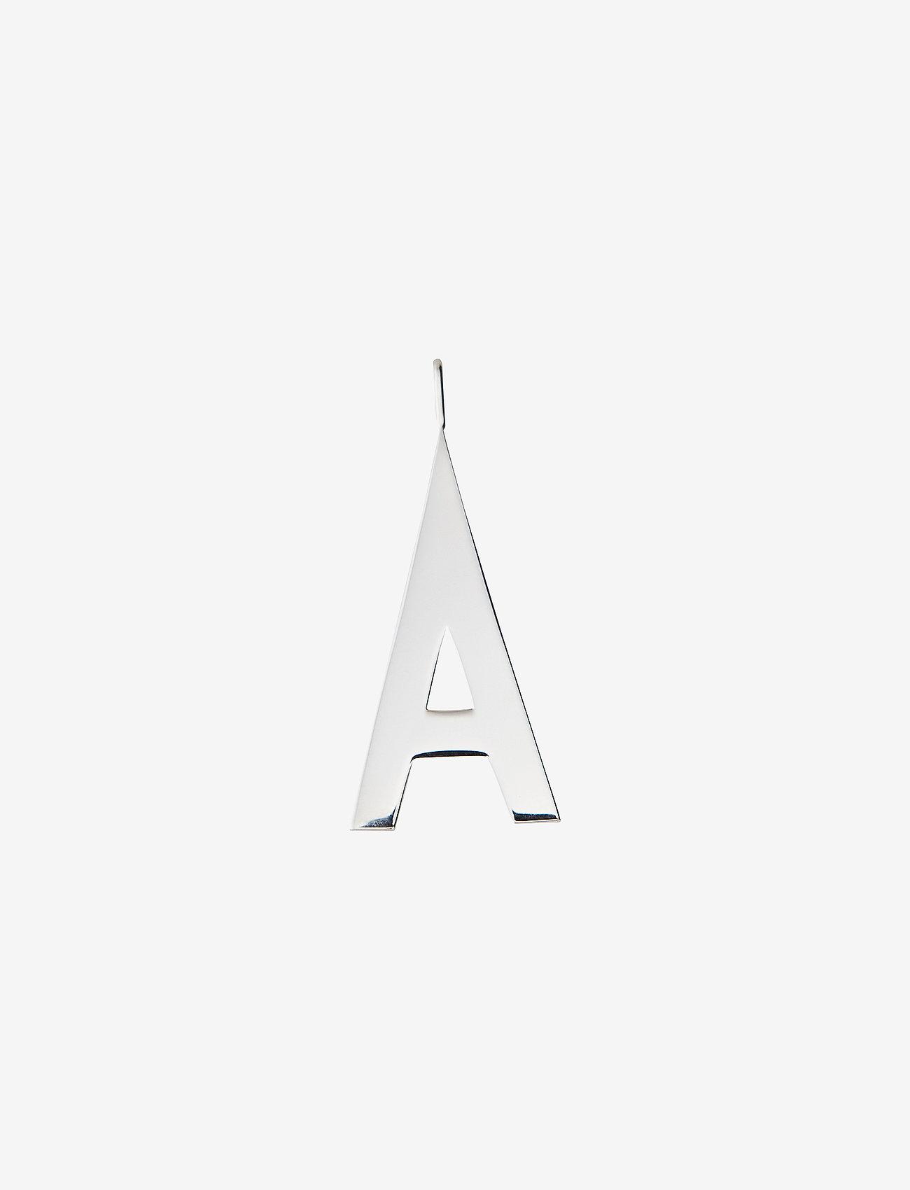 Design Letters - Archetypes 30 mm silver A-Z - pendentifs - silver - 0