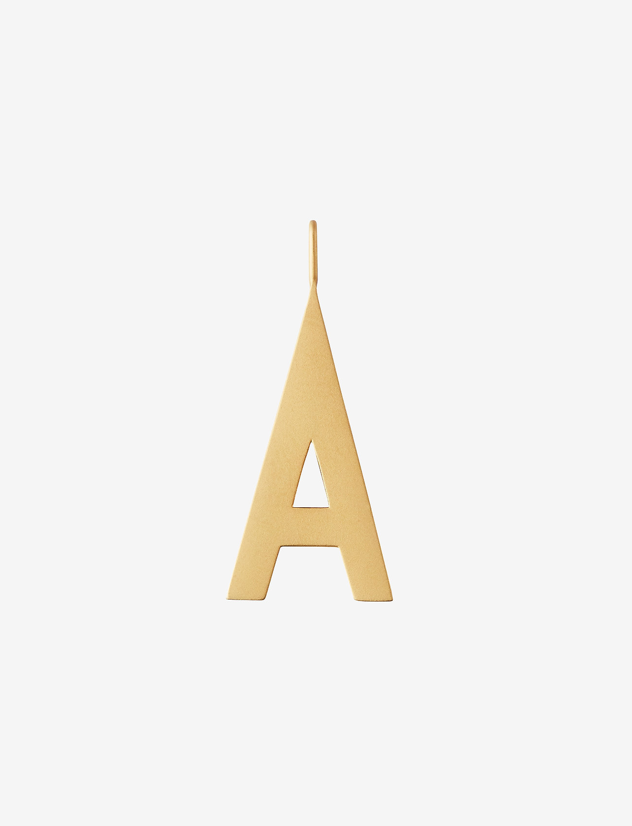 Design Letters - ARCHETYPES 30 MM, GOLD, A-Z - pendentifs - gold