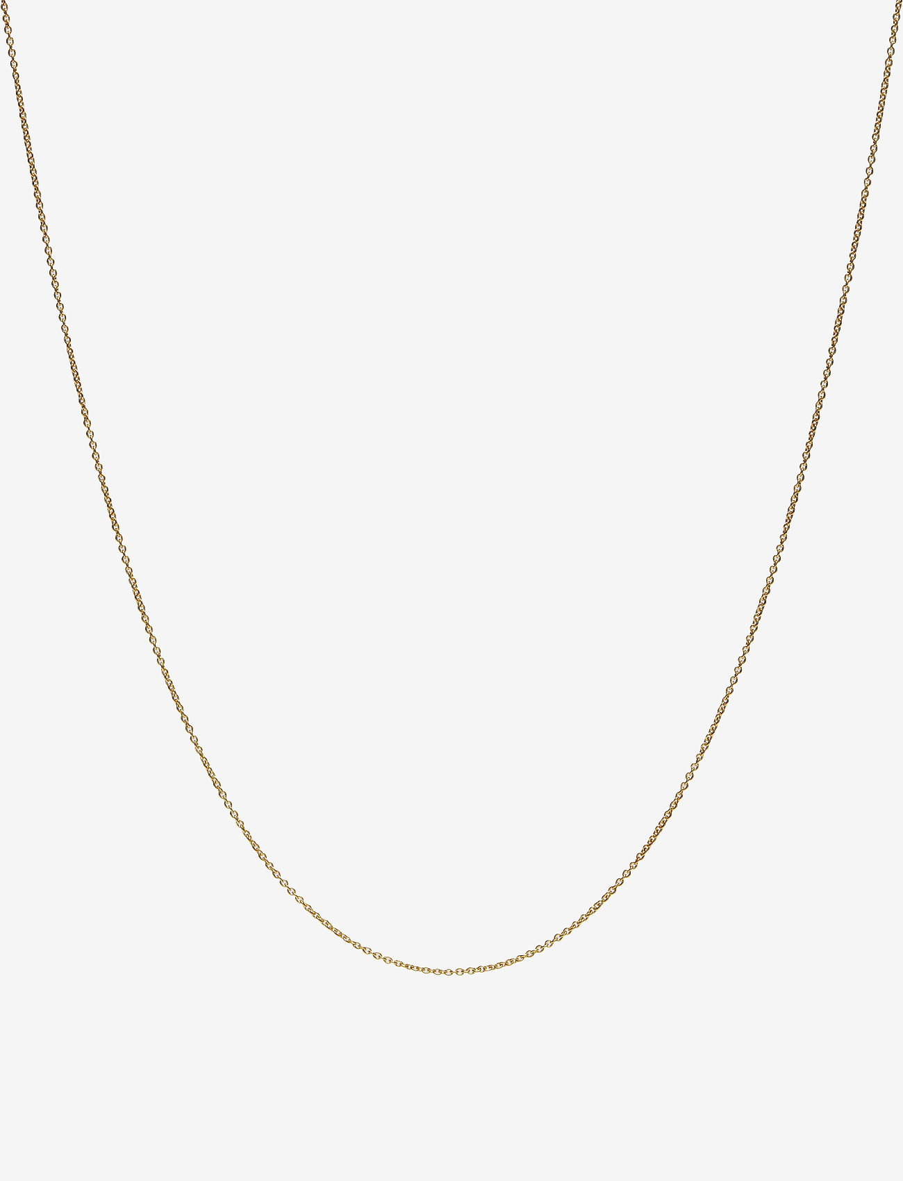 Design Letters - 60 cm chain 18k gold plated silver - colliers - gold - 0