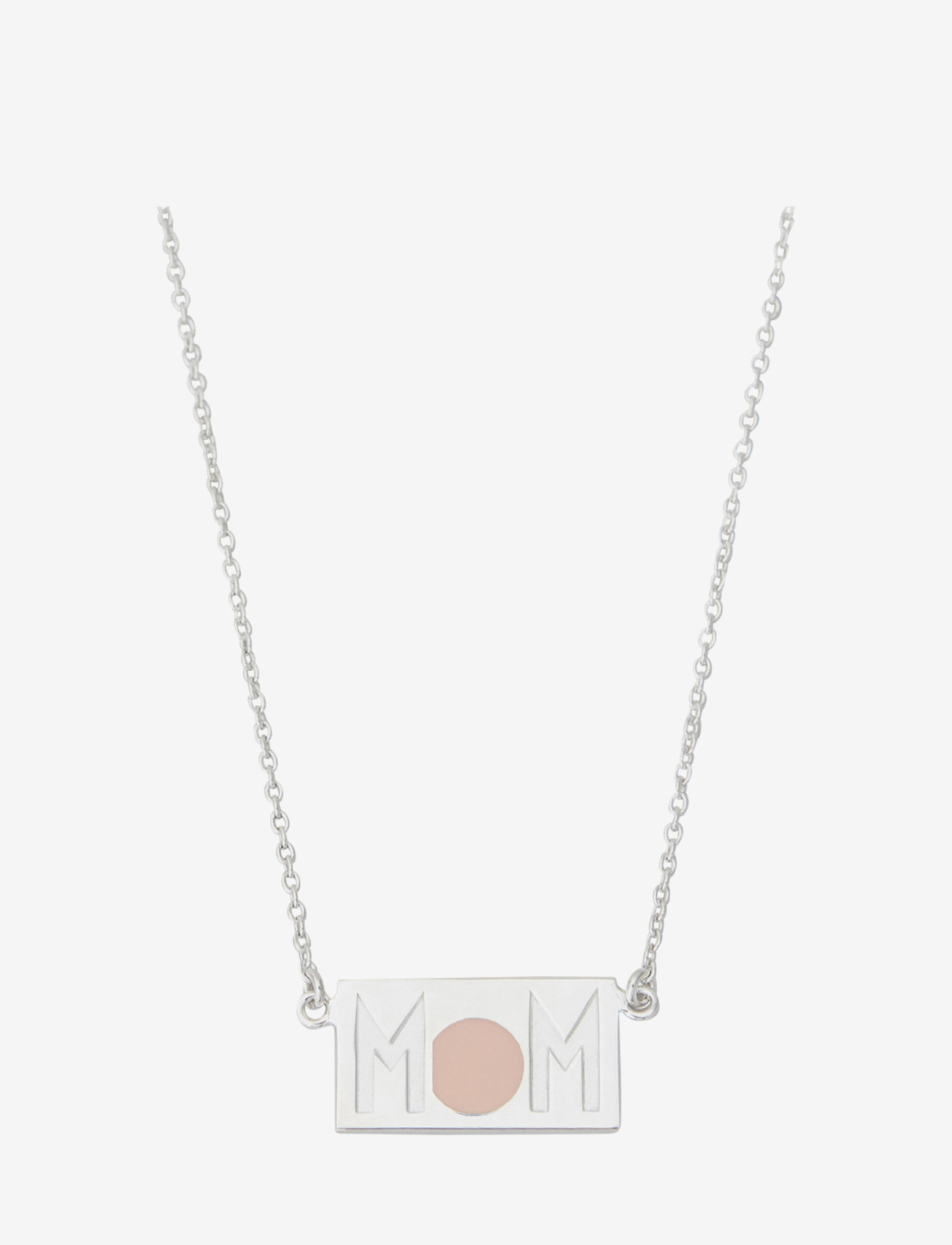 Design Letters - MOM Necklace - silver - 0