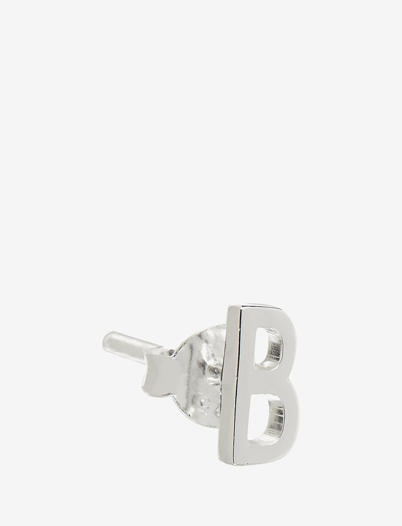 Design Letters - EARRING STUDS ARCHETYPES, SILVER, A-Z - studs - silver - 0