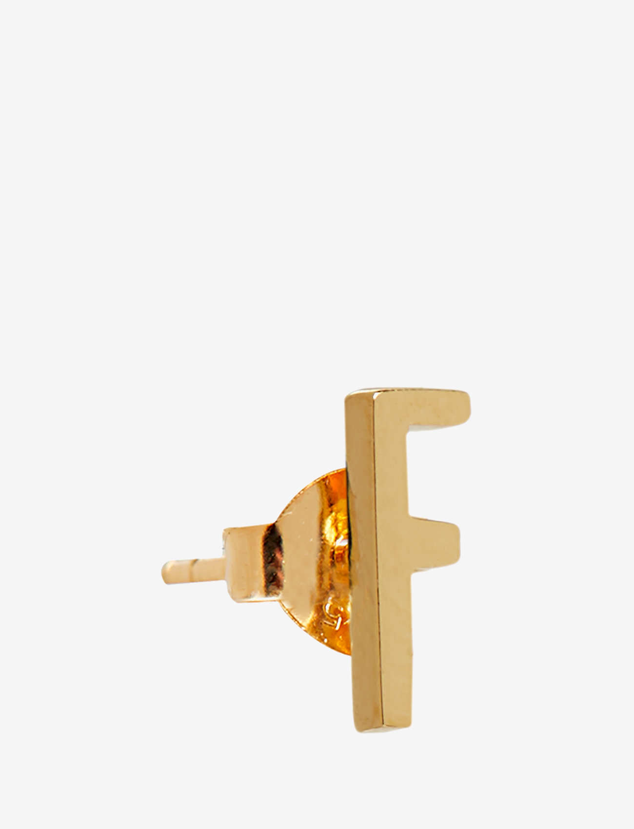 Design Letters - EARRING STUDS ARCHETYPES, GOLD, A-Z - studs - gold - 0