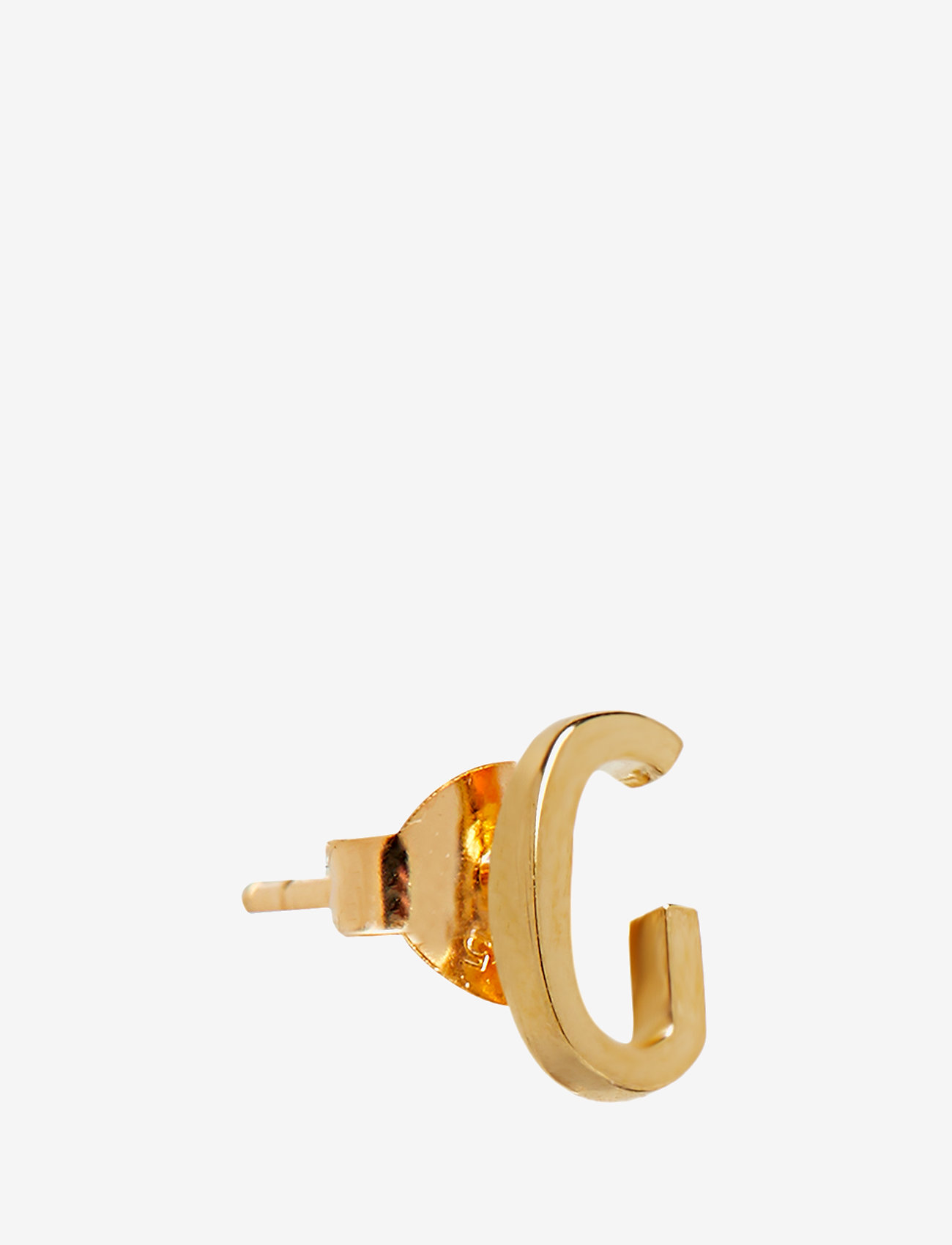Design Letters - EARRING STUDS ARCHETYPES, GOLD, A-Z - goujons - gold - 0