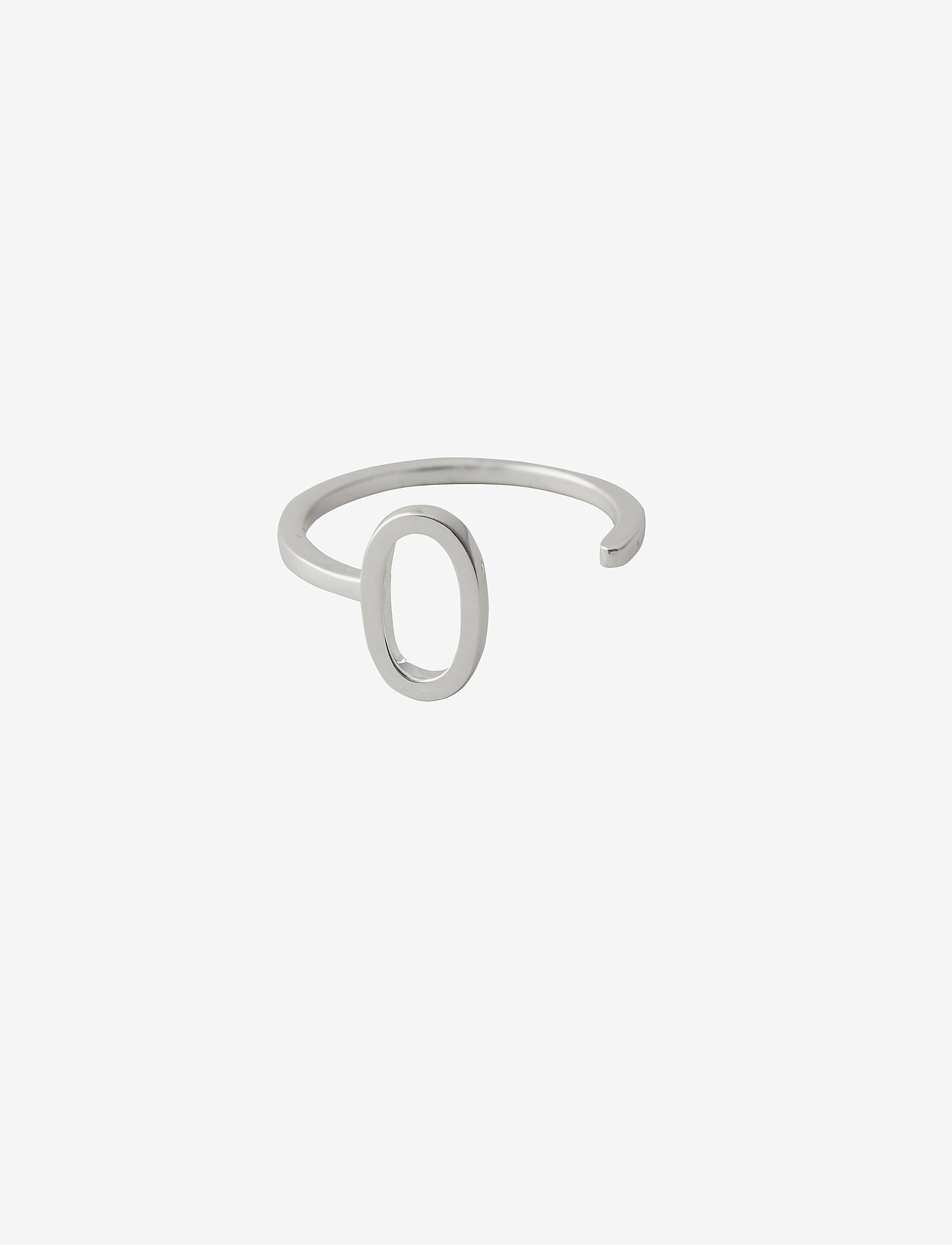 Design Letters - Ring A-Z Silver - bagues - silver - 0
