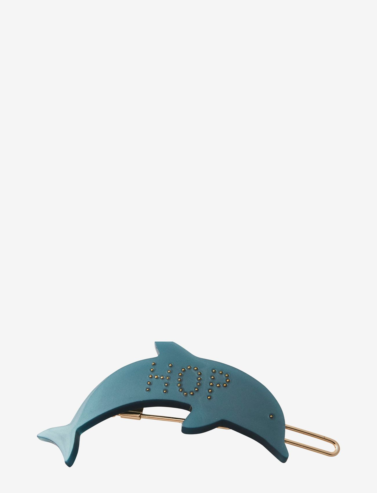 Design Letters - Iconic Hair Clip Dolphin - haar accessoires - dark green - 0