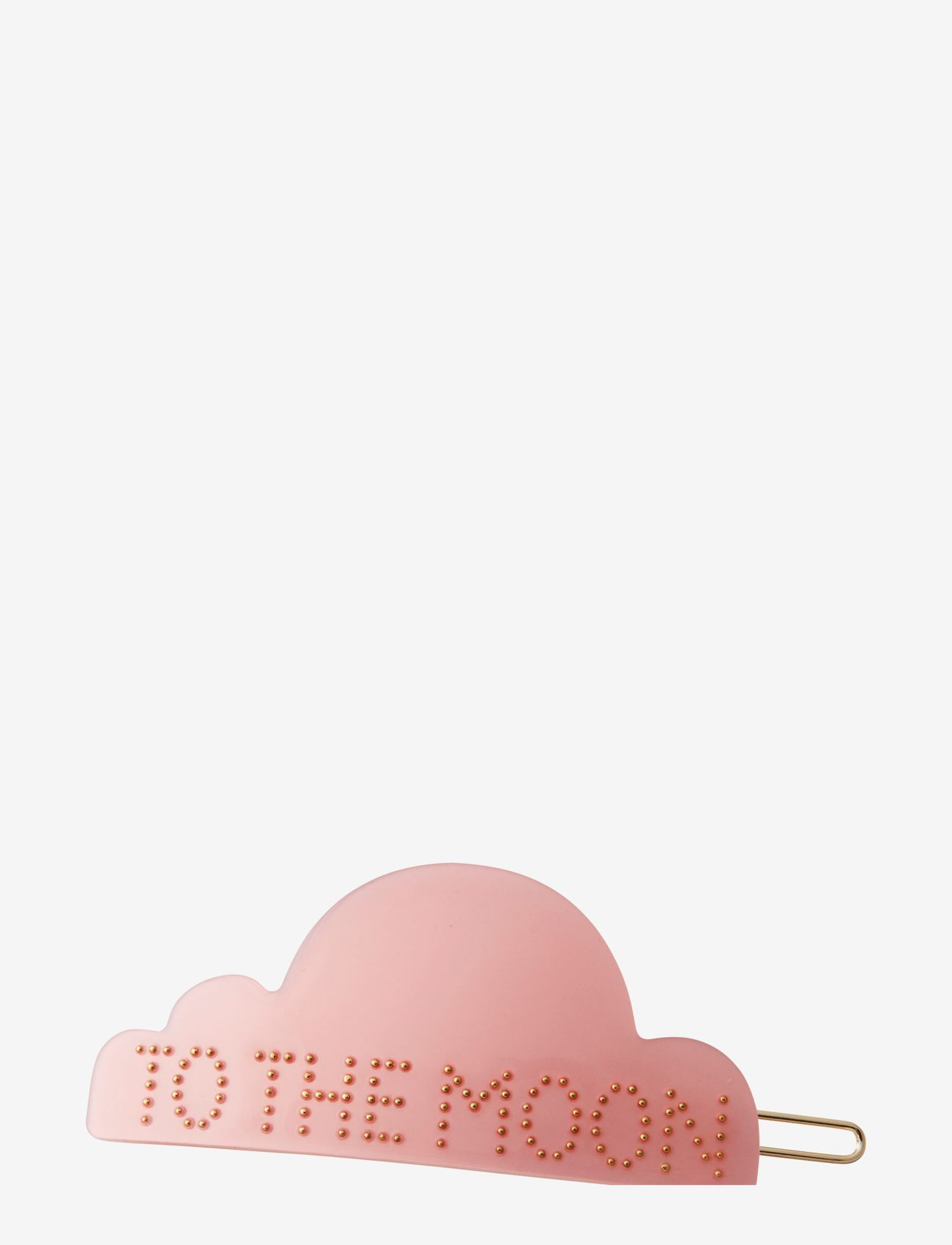Design Letters - Iconic Hair Clip Cloud - haar accessoires - pink - 0