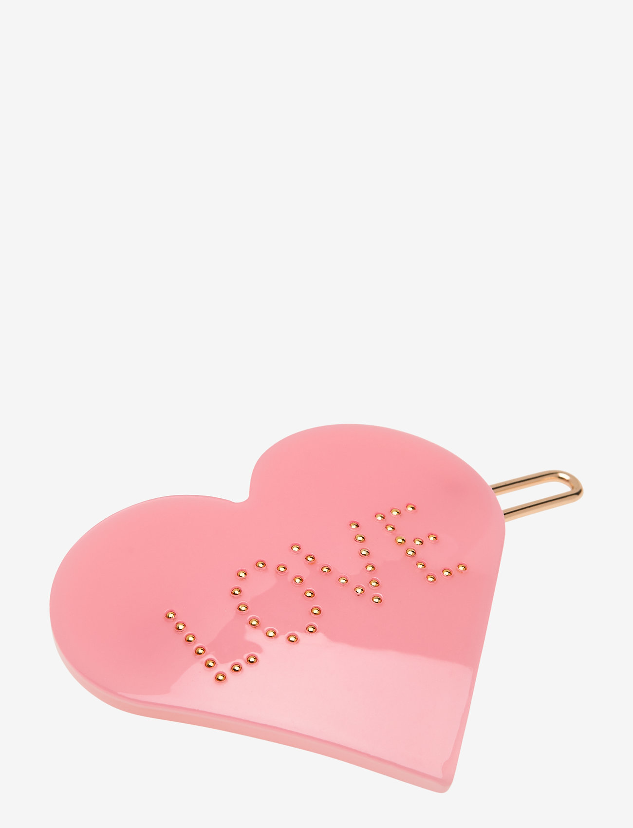 Design Letters - Iconic Hair Clip Heart - haaraccessoires - pink - 0