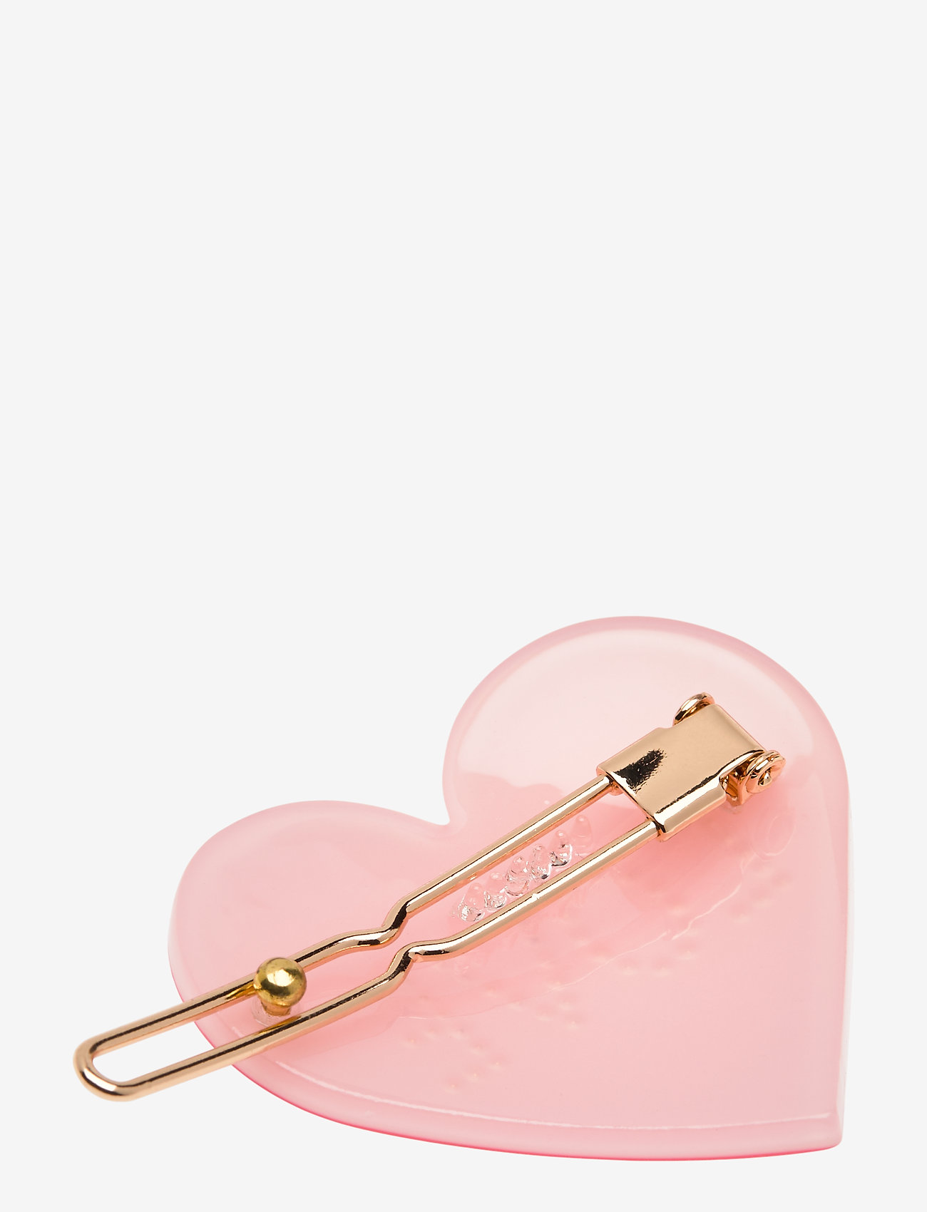 Design Letters - Iconic Hair Clip Heart - haaraccessoires - pink - 1