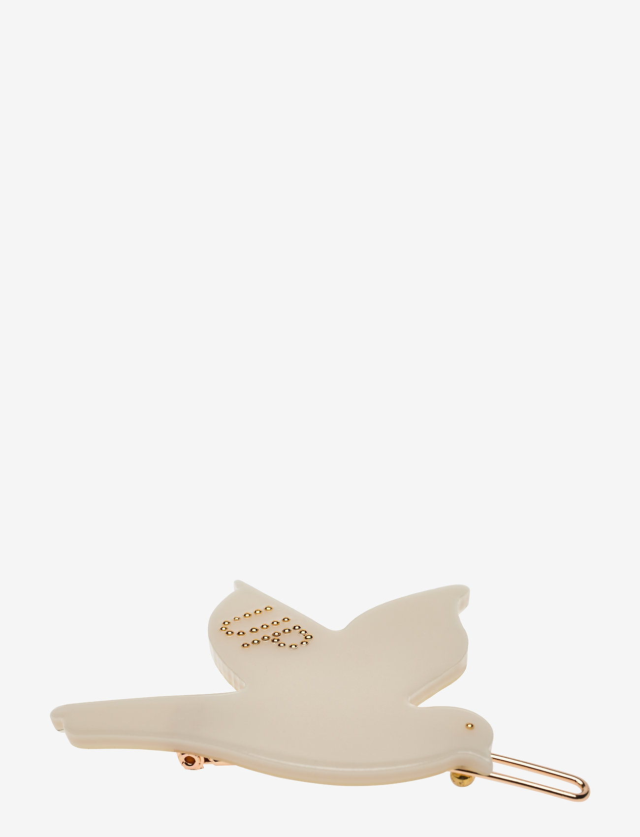 Design Letters - Iconic Hair Clip Flying bird - accessoires - lightgrey grey 3 - 0