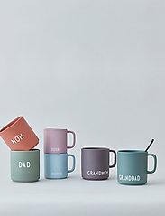 Design Letters - Favourite cup with handle - tasses à café - dusty green - 2