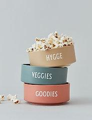 Design Letters - Snack bowl - saladiers de service - dusty green - 2