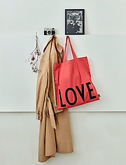 Design Letters - Favourite tote bag - cabas - rose - 0